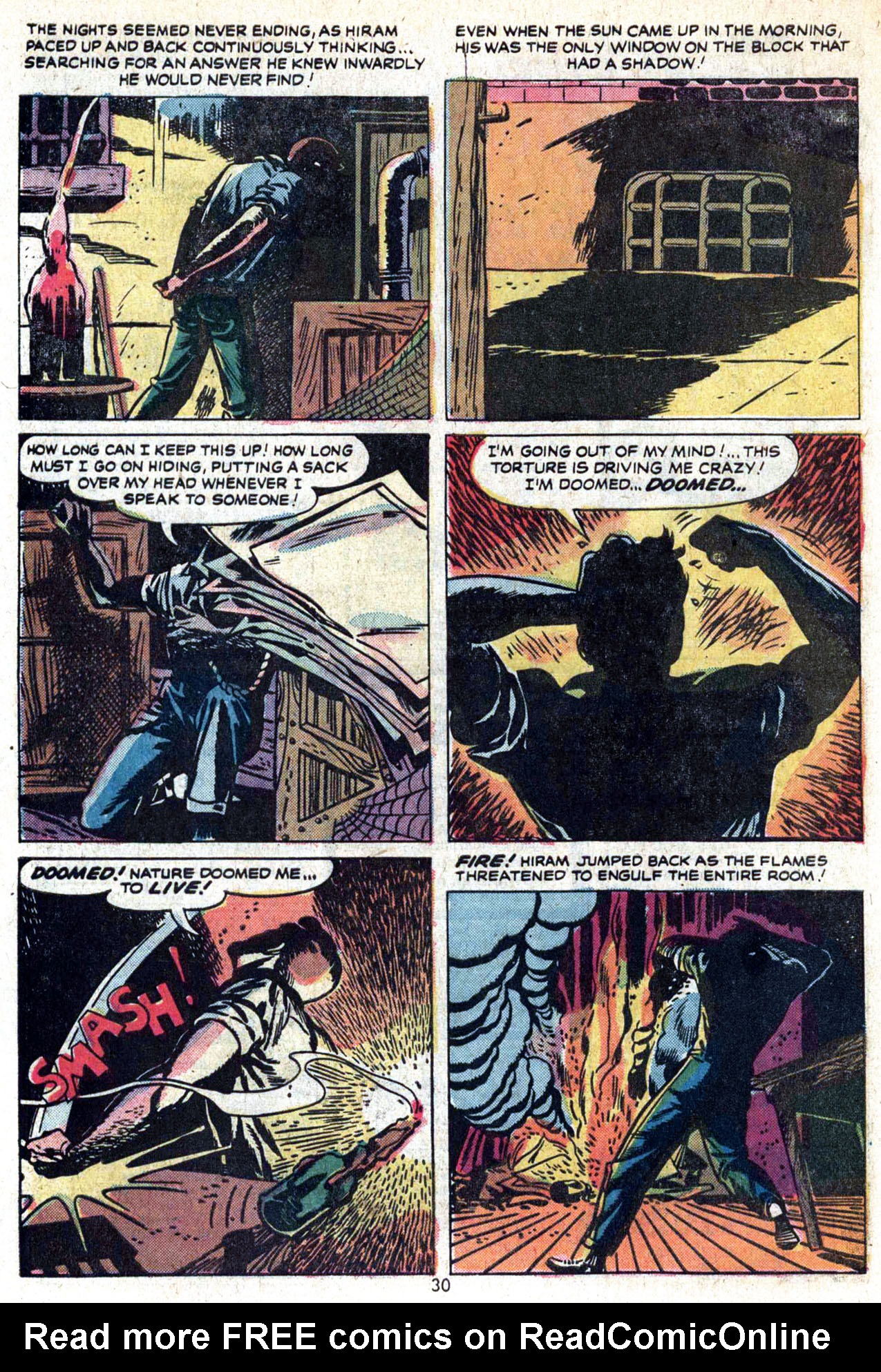 Read online Amazing Adventures (1970) comic -  Issue #23 - 31