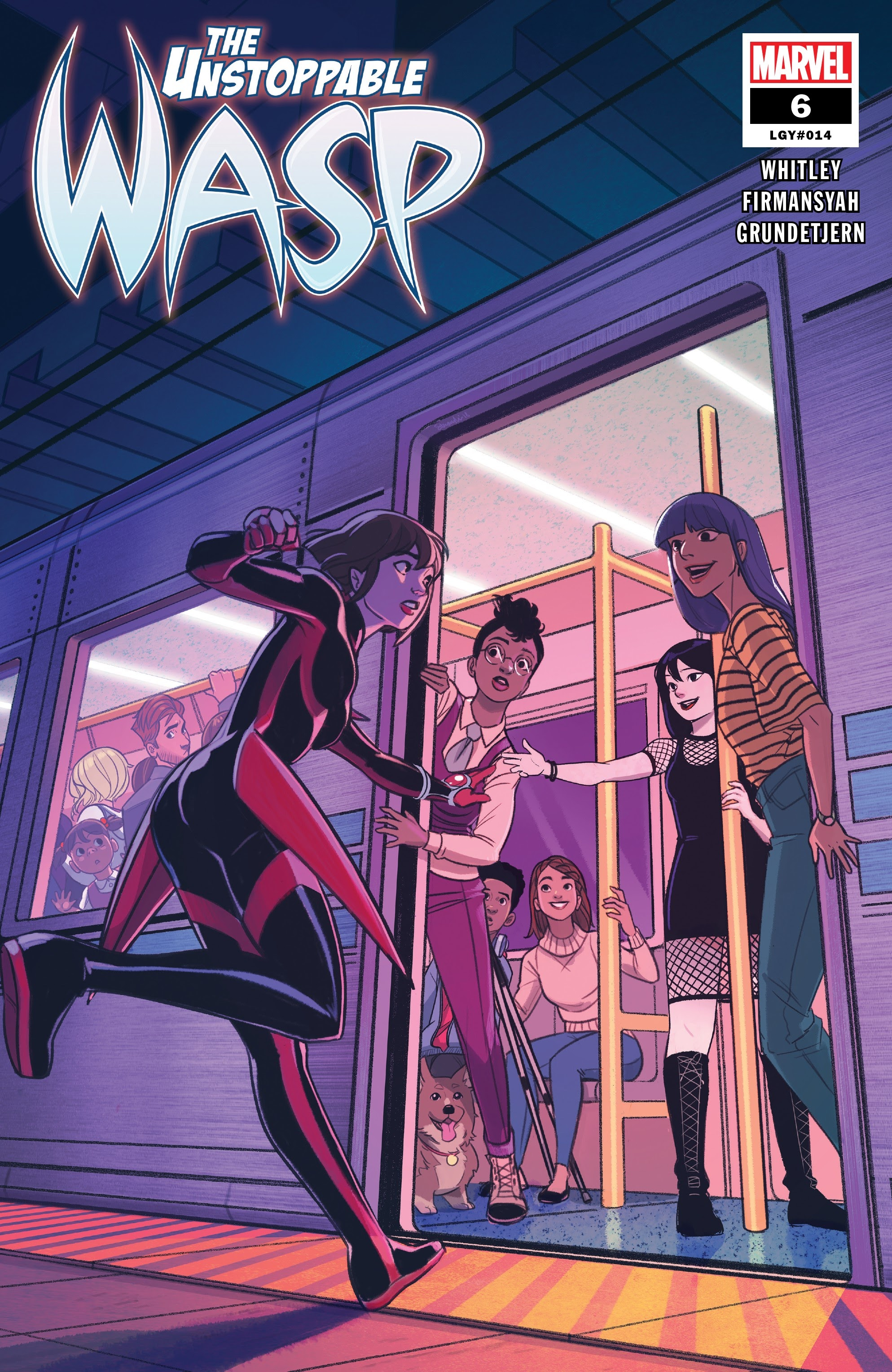 The Unstoppable Wasp (2018) 6 Page 1