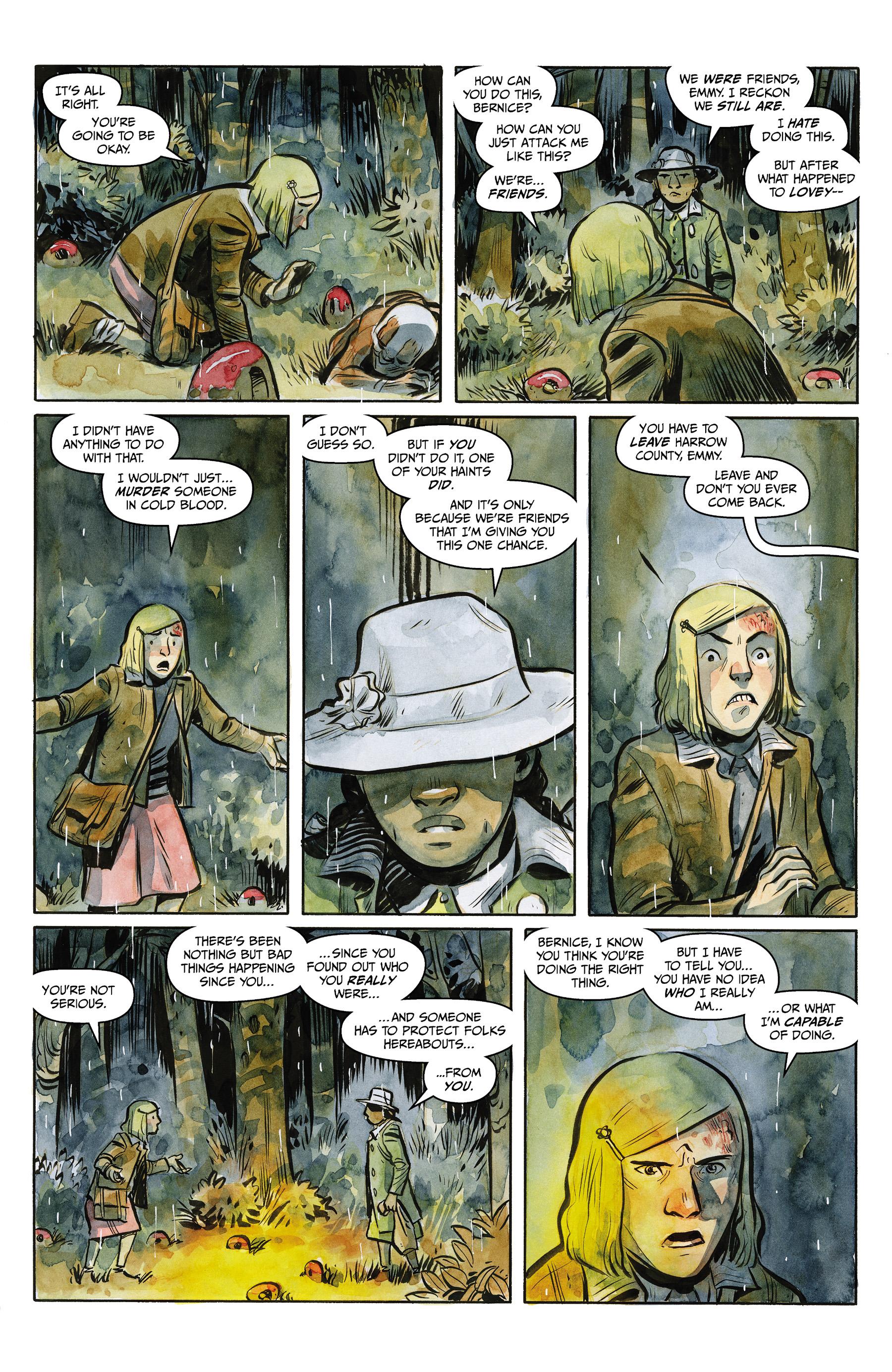 Read online Harrow County comic -  Issue #24 - 16