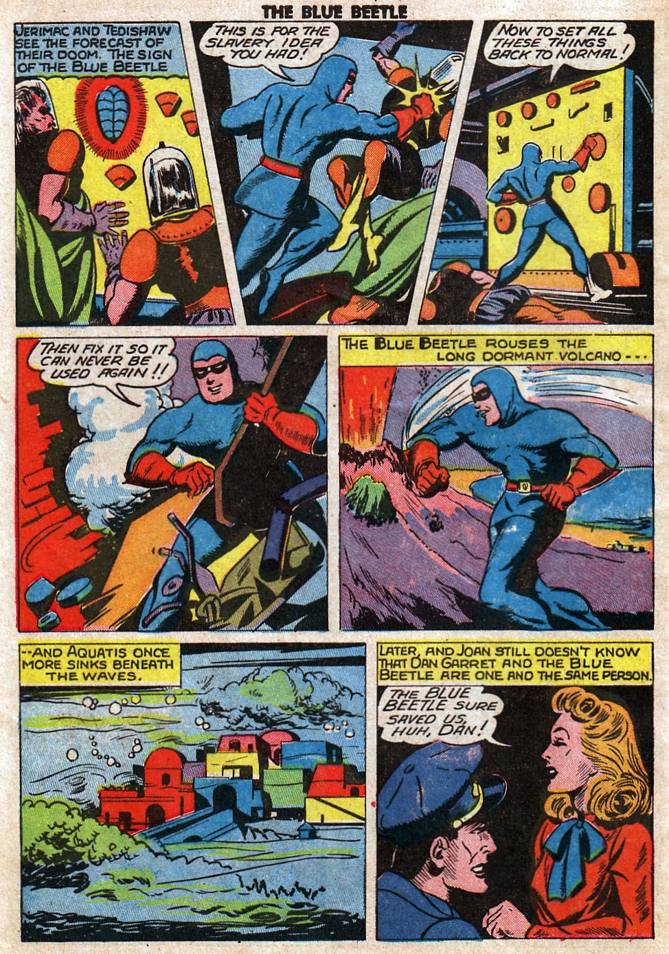 The Blue Beetle issue 33 - Page 48