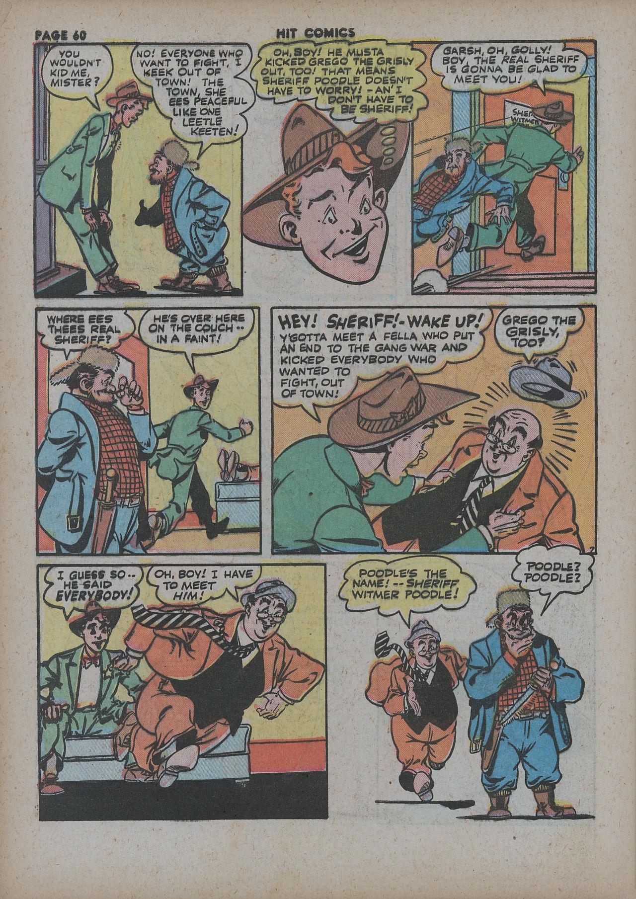 Read online Hit Comics comic -  Issue #27 - 62