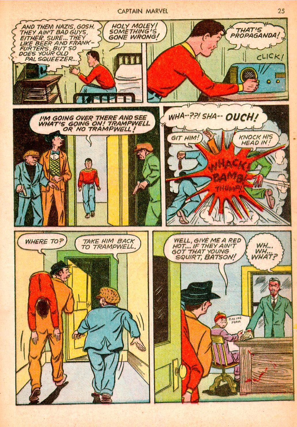 Captain Marvel Adventures issue 10 - Page 25