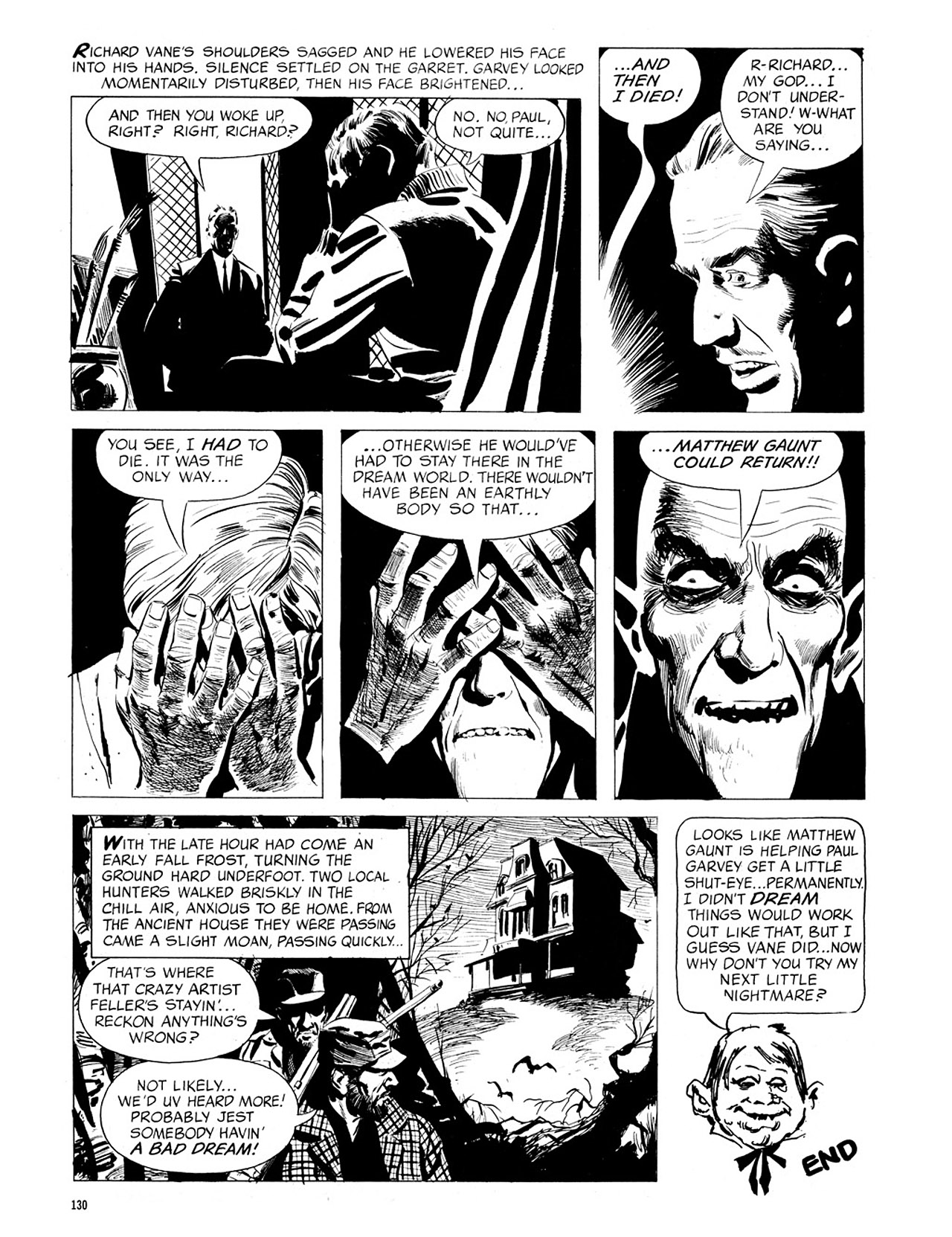 Read online Eerie Archives comic -  Issue # TPB 4 - 131