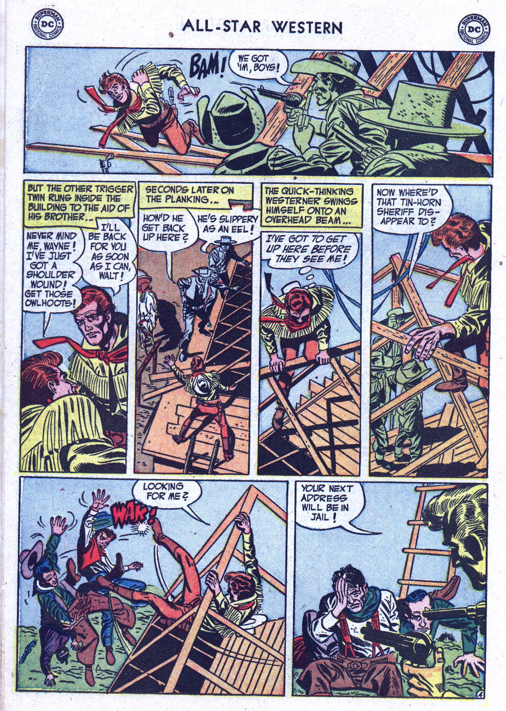 Read online All-Star Western (1951) comic -  Issue #71 - 14