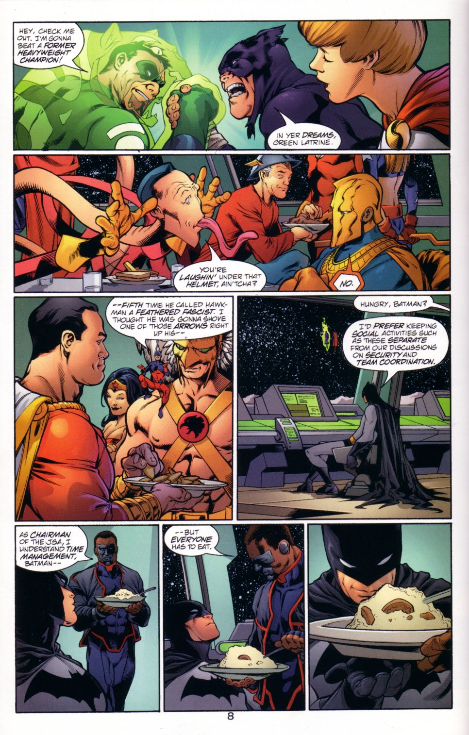 Read online JLA/JSA: Virtue and Vice comic -  Issue # TPB - 11