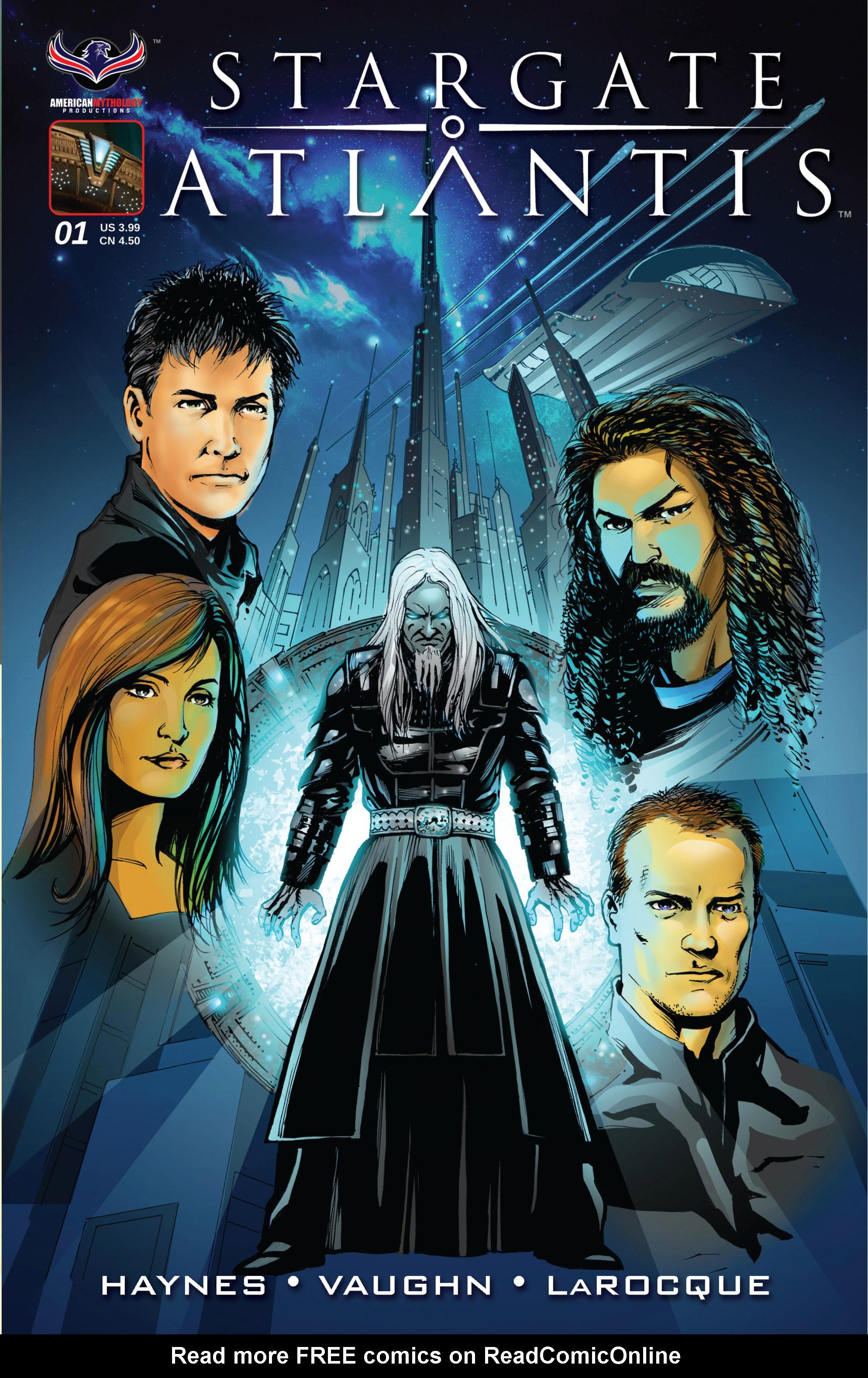 Stargate Atlantis Back to Pegasus 1 Page 1