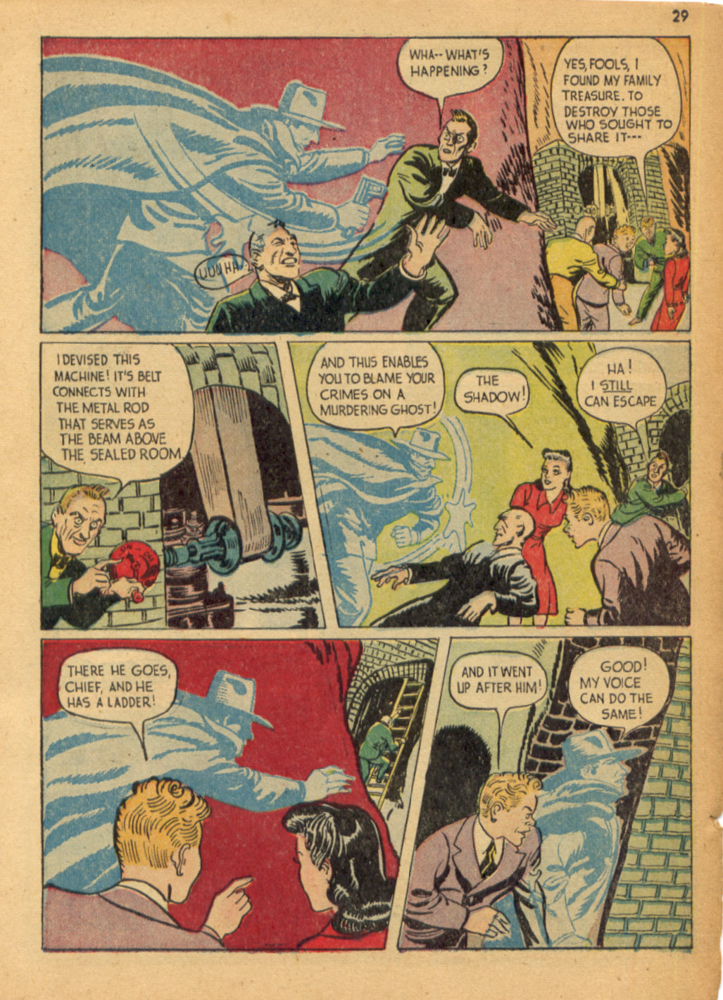Read online Shadow Comics comic -  Issue #32 - 30