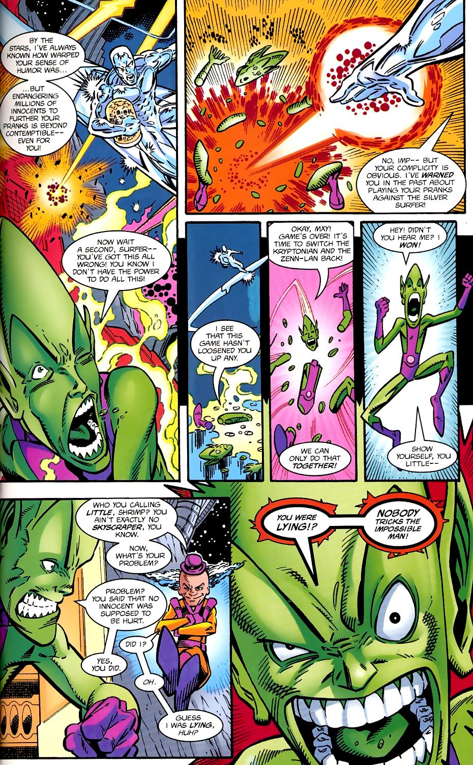 Read online Silver Surfer/Superman comic -  Issue # Full - 35