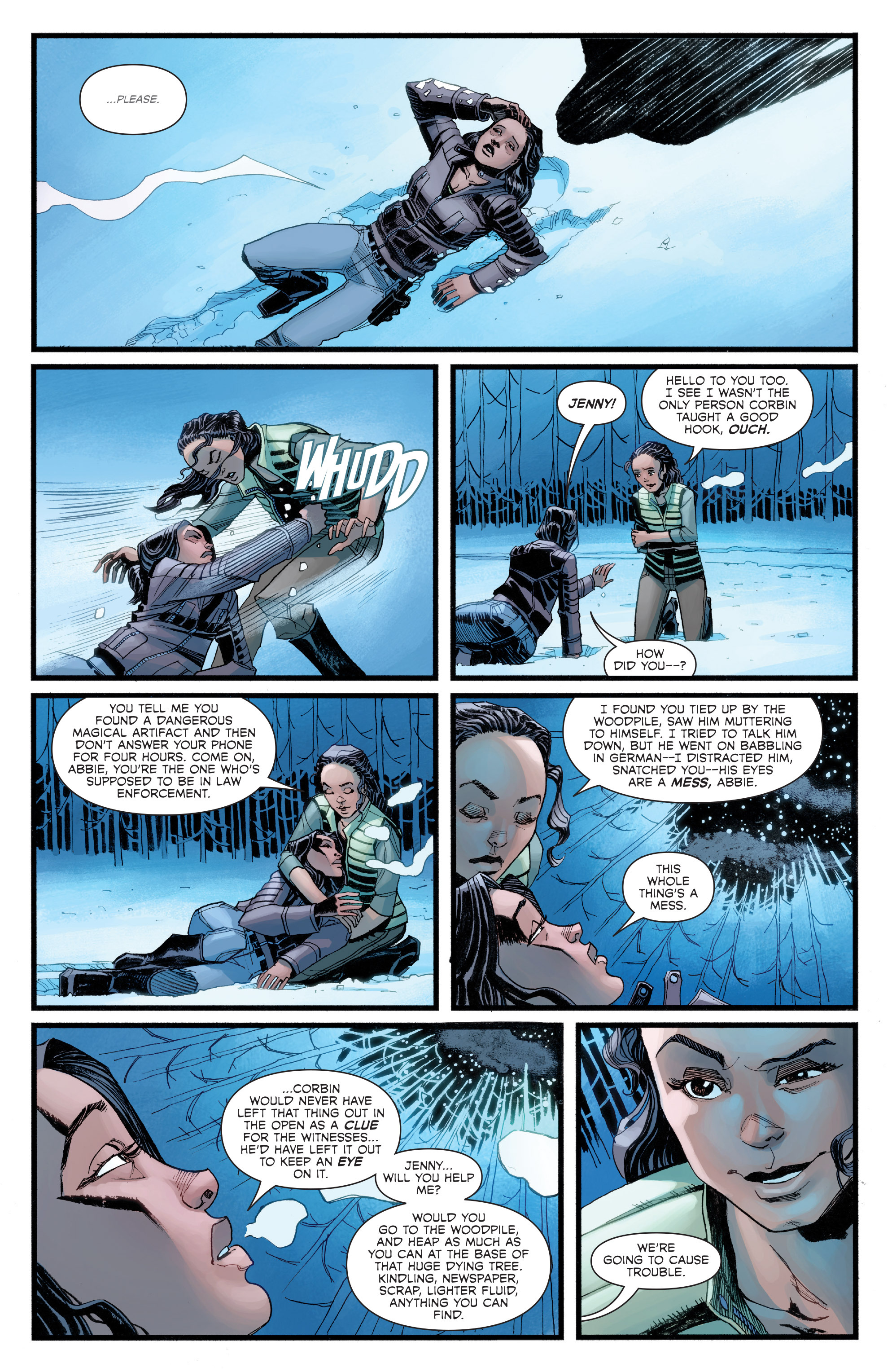 Read online Sleepy Hollow (2014) comic -  Issue #2 - 15