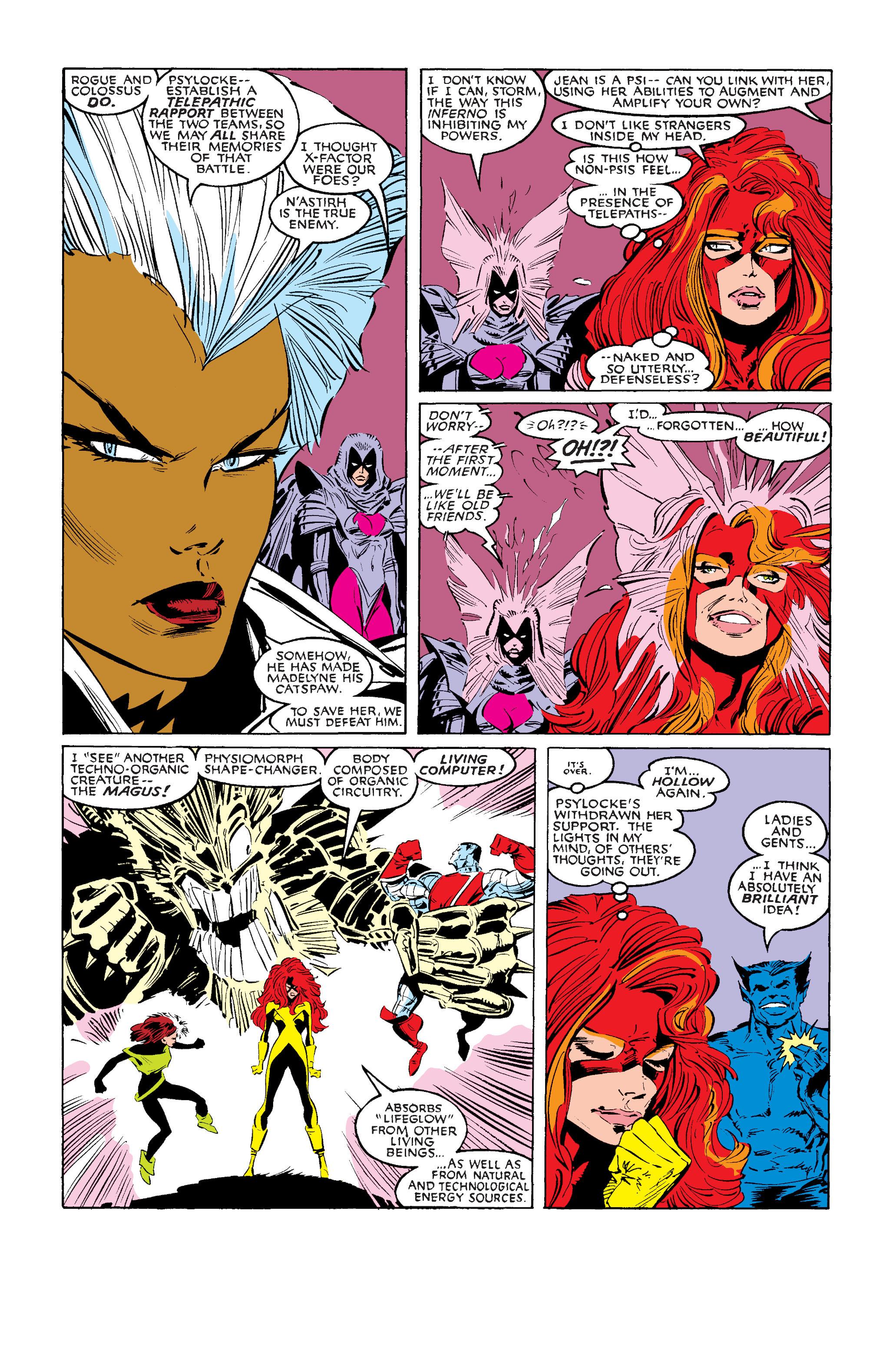 Read online Uncanny X-Men (1963) comic -  Issue #242 - 29