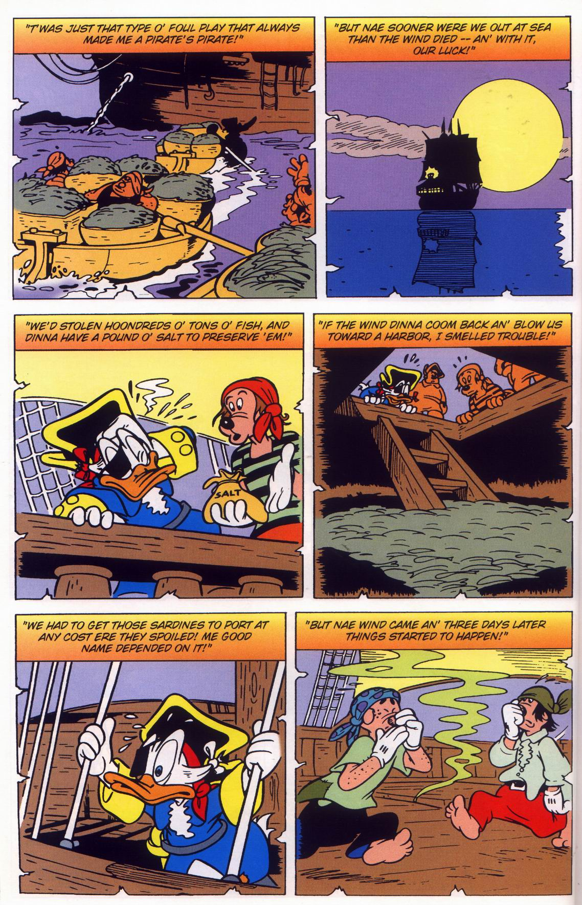 Read online Uncle Scrooge (1953) comic -  Issue #316 - 20