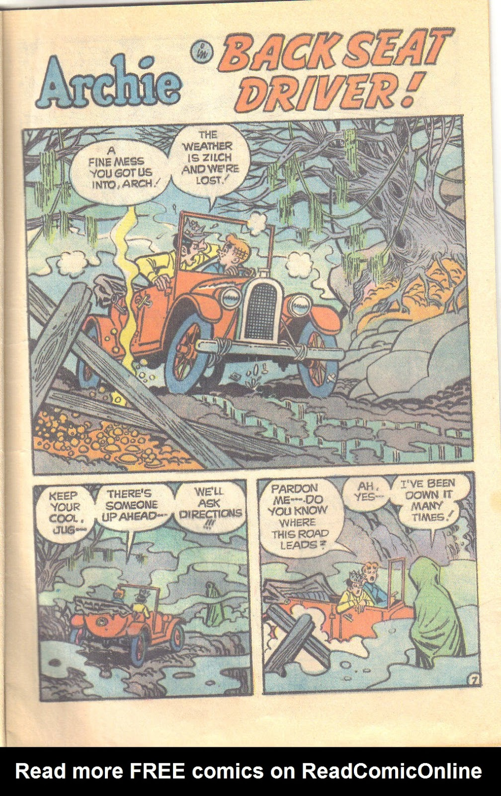 Archie's Love Scene issue Full - Page 9