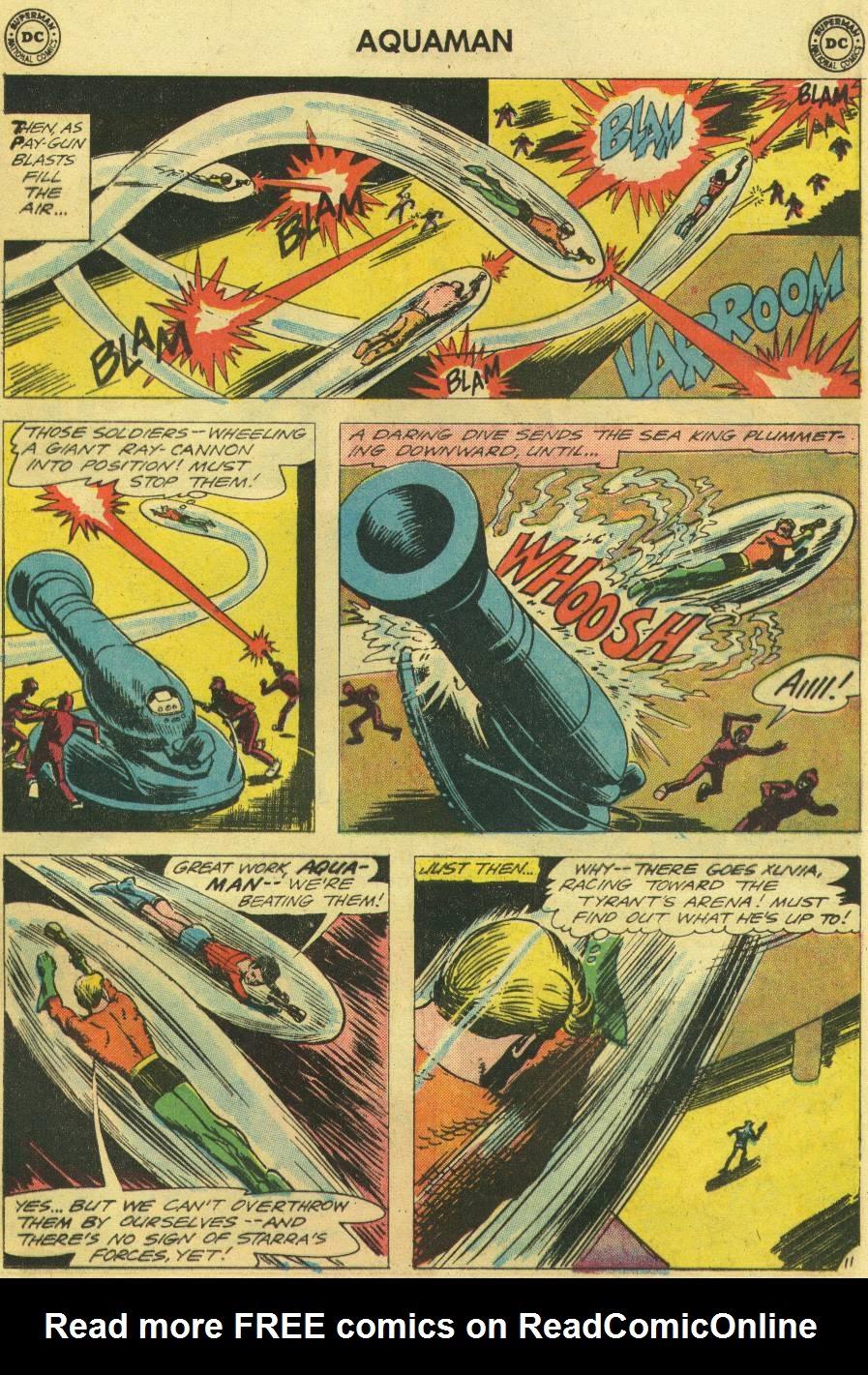 Read online Aquaman (1962) comic -  Issue #12 - 29