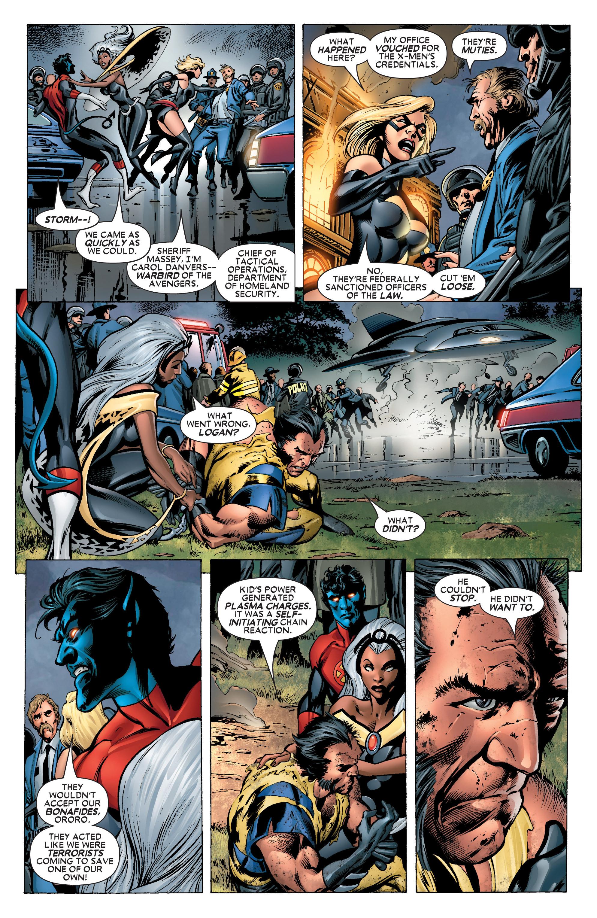 Read online Uncanny X-Men (1963) comic -  Issue #445 - 9
