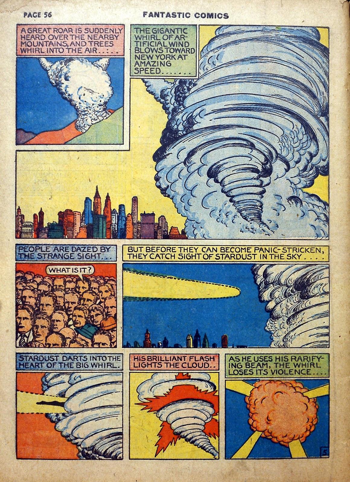 Read online Fantastic Comics comic -  Issue #5 - 57