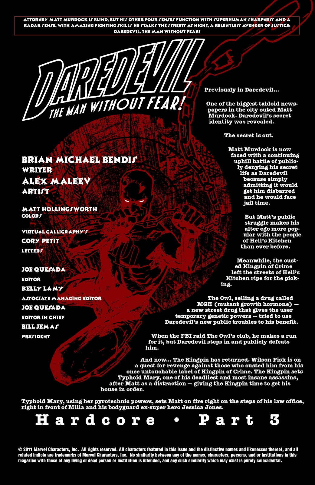 Read online Daredevil (1998) comic -  Issue # _Ultimate_Collection TPB 2 (Part 2) - 60