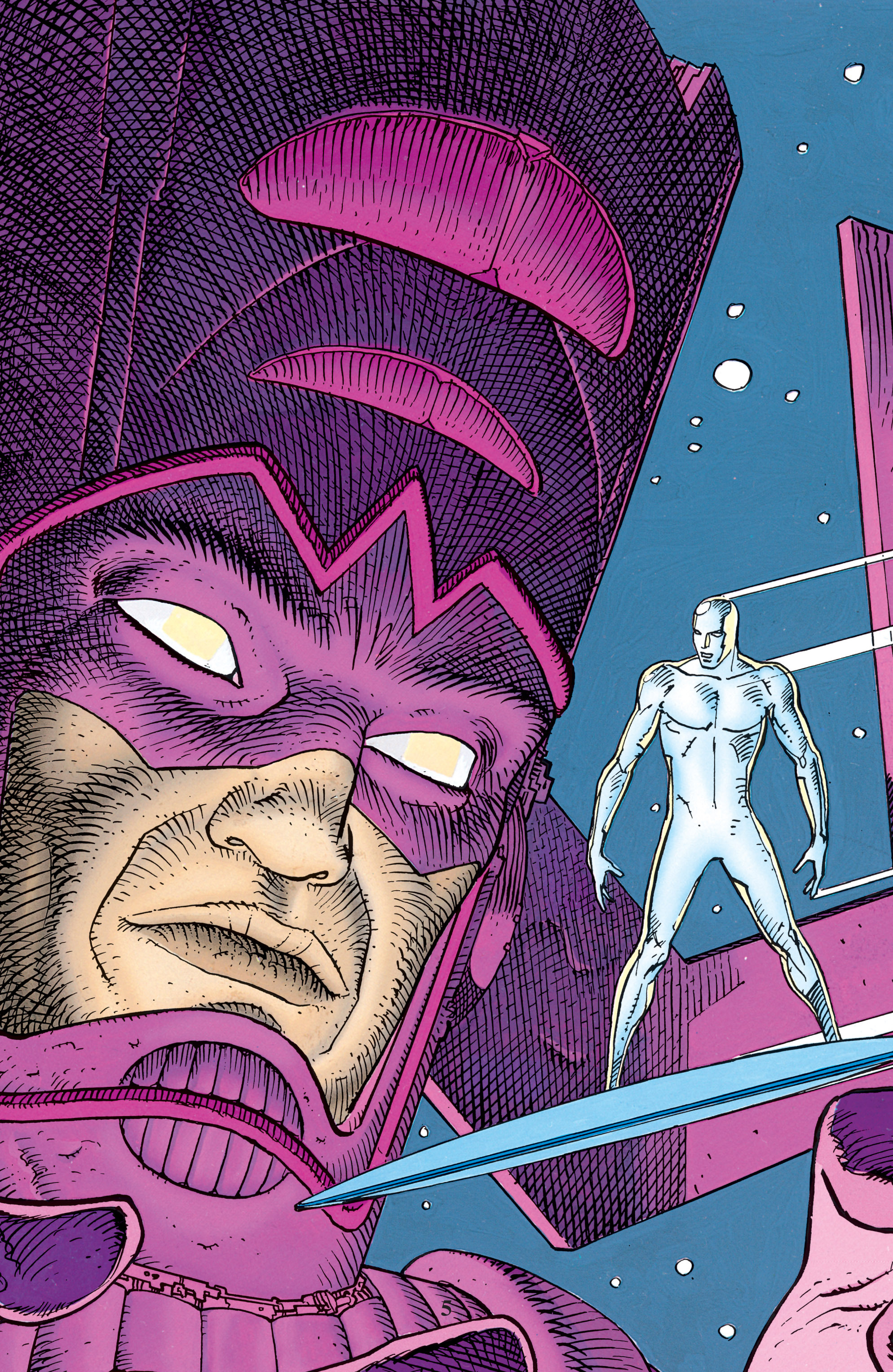 Read online Silver Surfer: Parable comic -  Issue # TPB - 4
