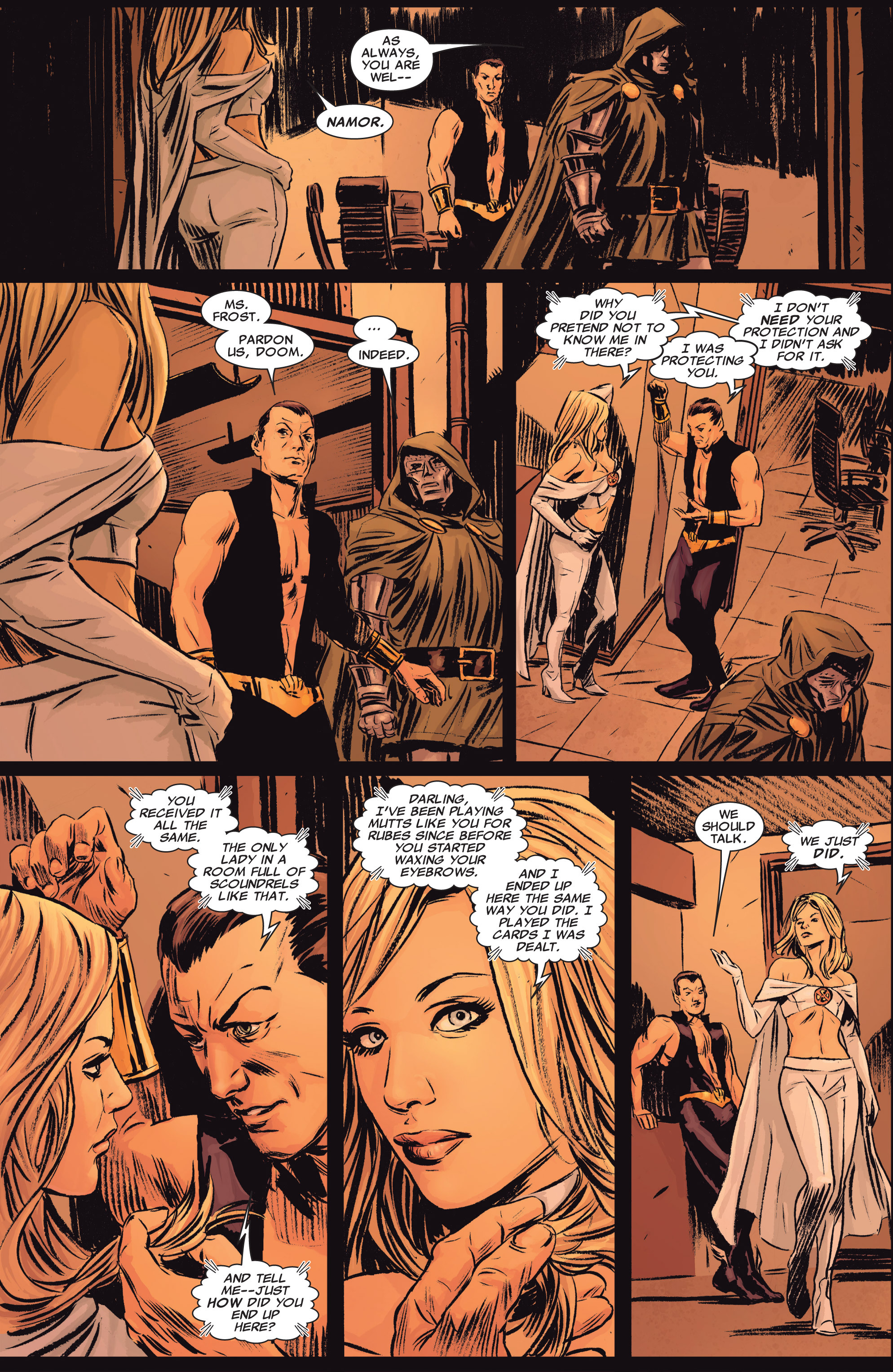 Read online Uncanny X-Men (1963) comic -  Issue # _Annual 2 (2009) - 13