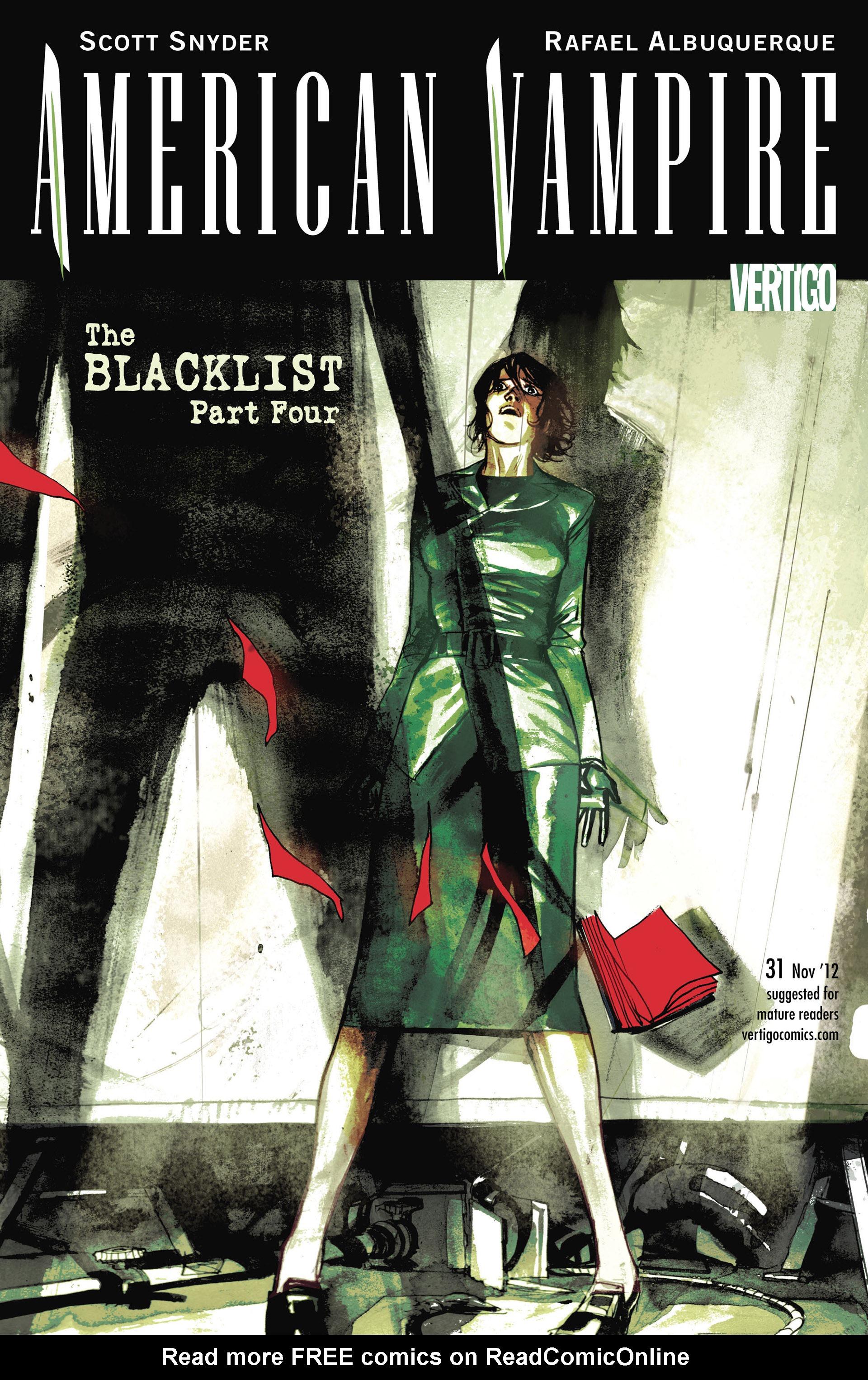 Read online American Vampire comic -  Issue #31 - 1