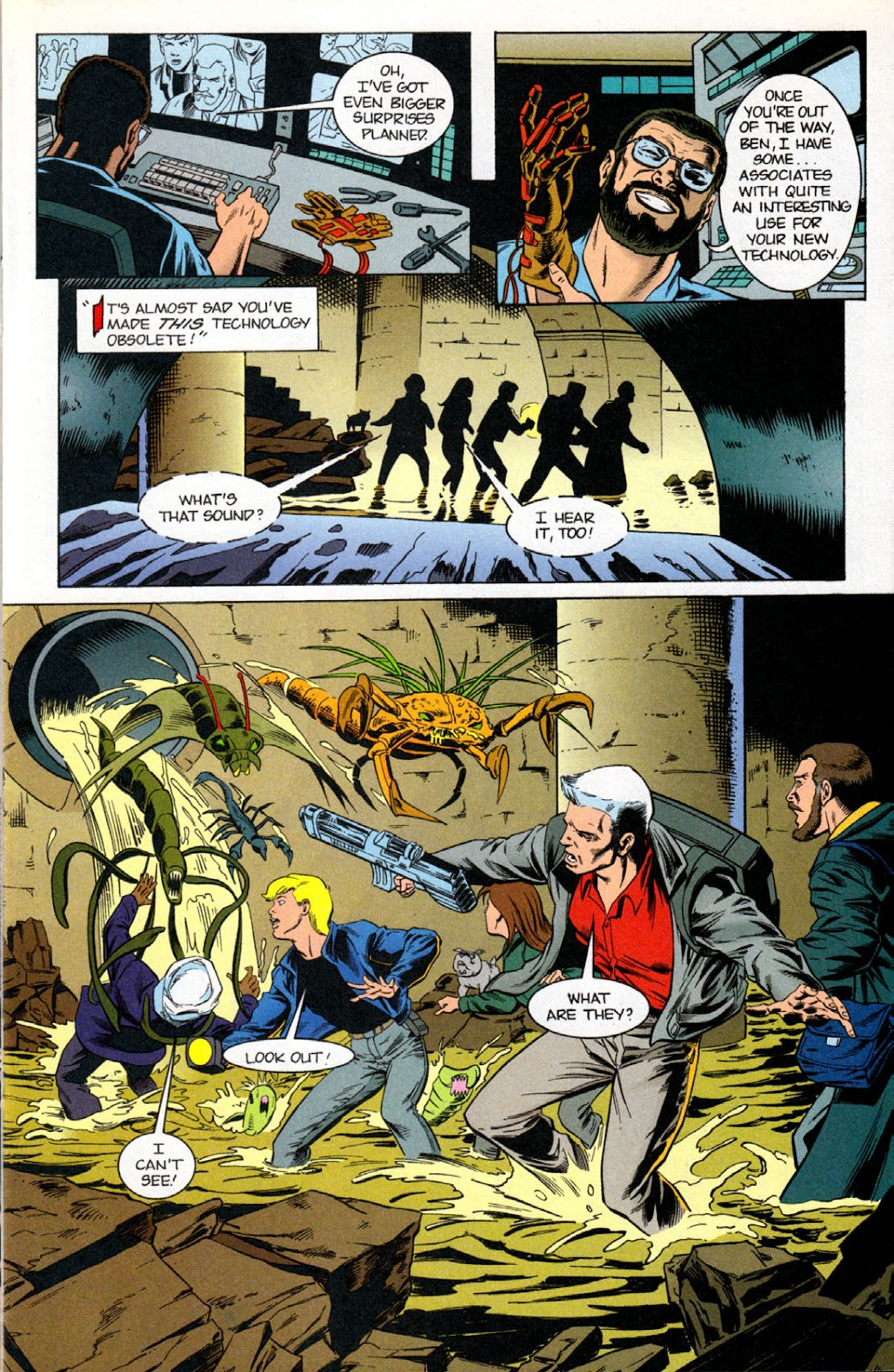 Read online The Real Adventures of Jonny Quest comic -  Issue #7 - 13