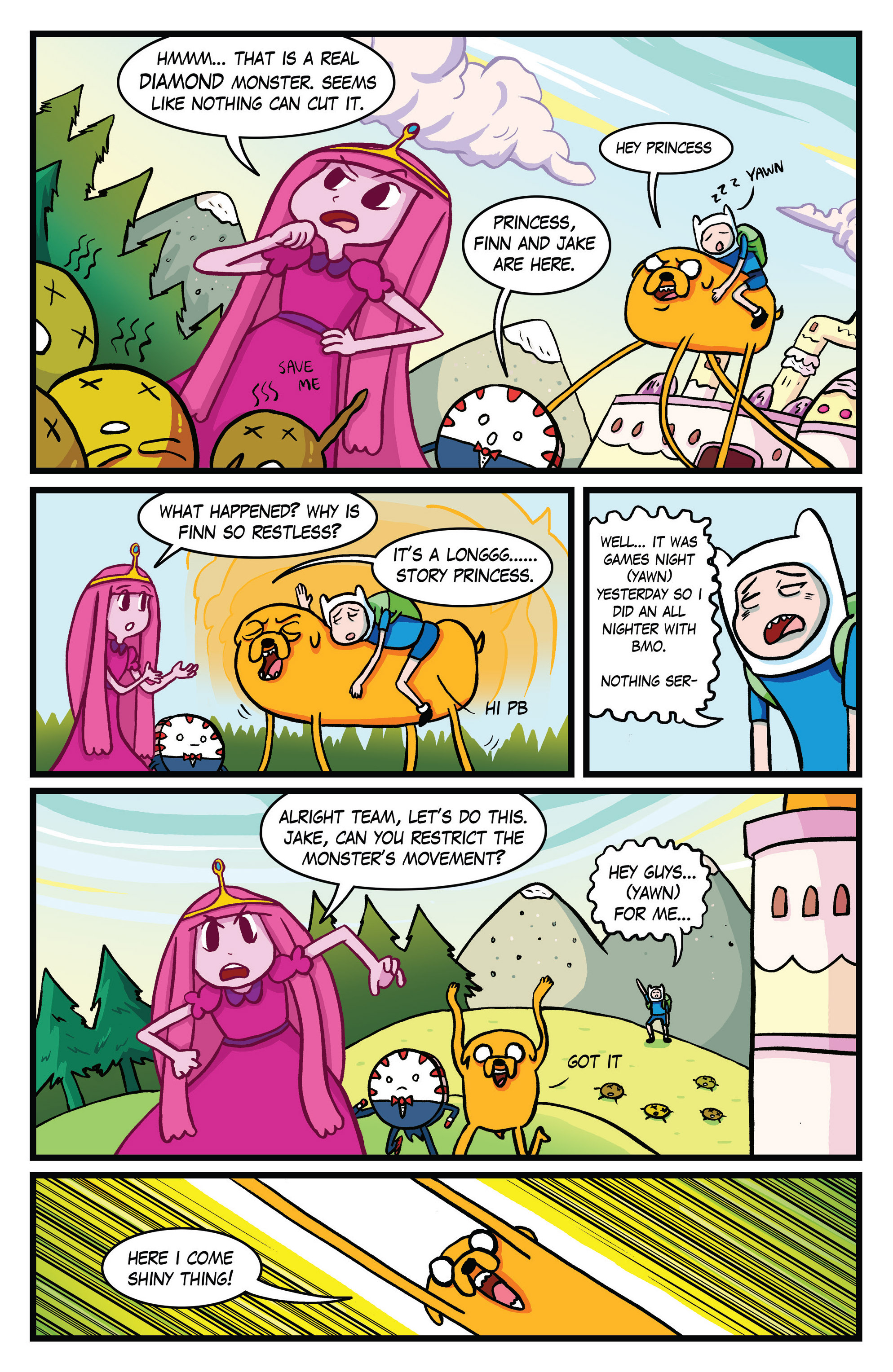 Read online Adventure Time Comics comic -  Issue #10 - 9