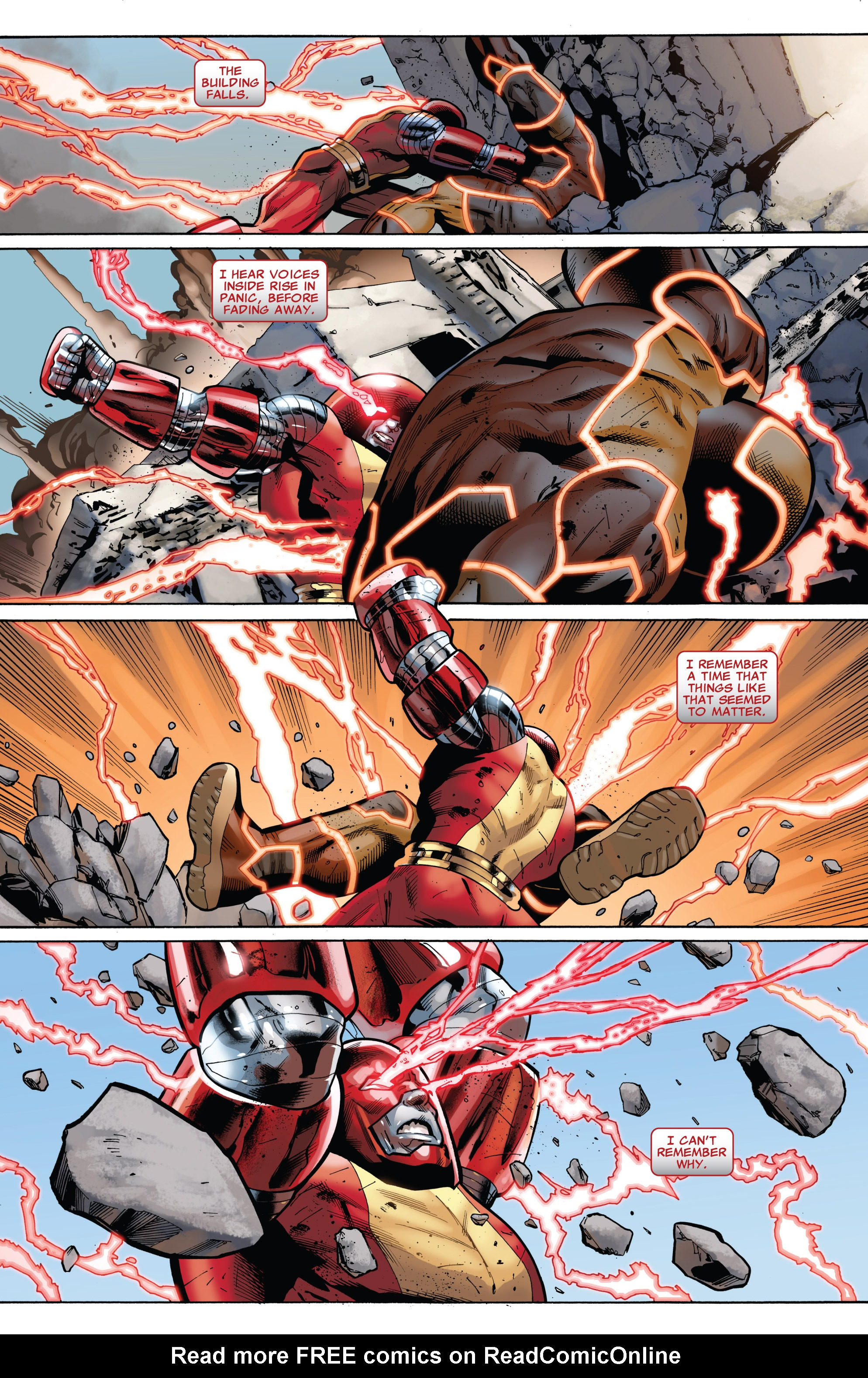 Read online Uncanny X-Men (1963) comic -  Issue #543 - 10