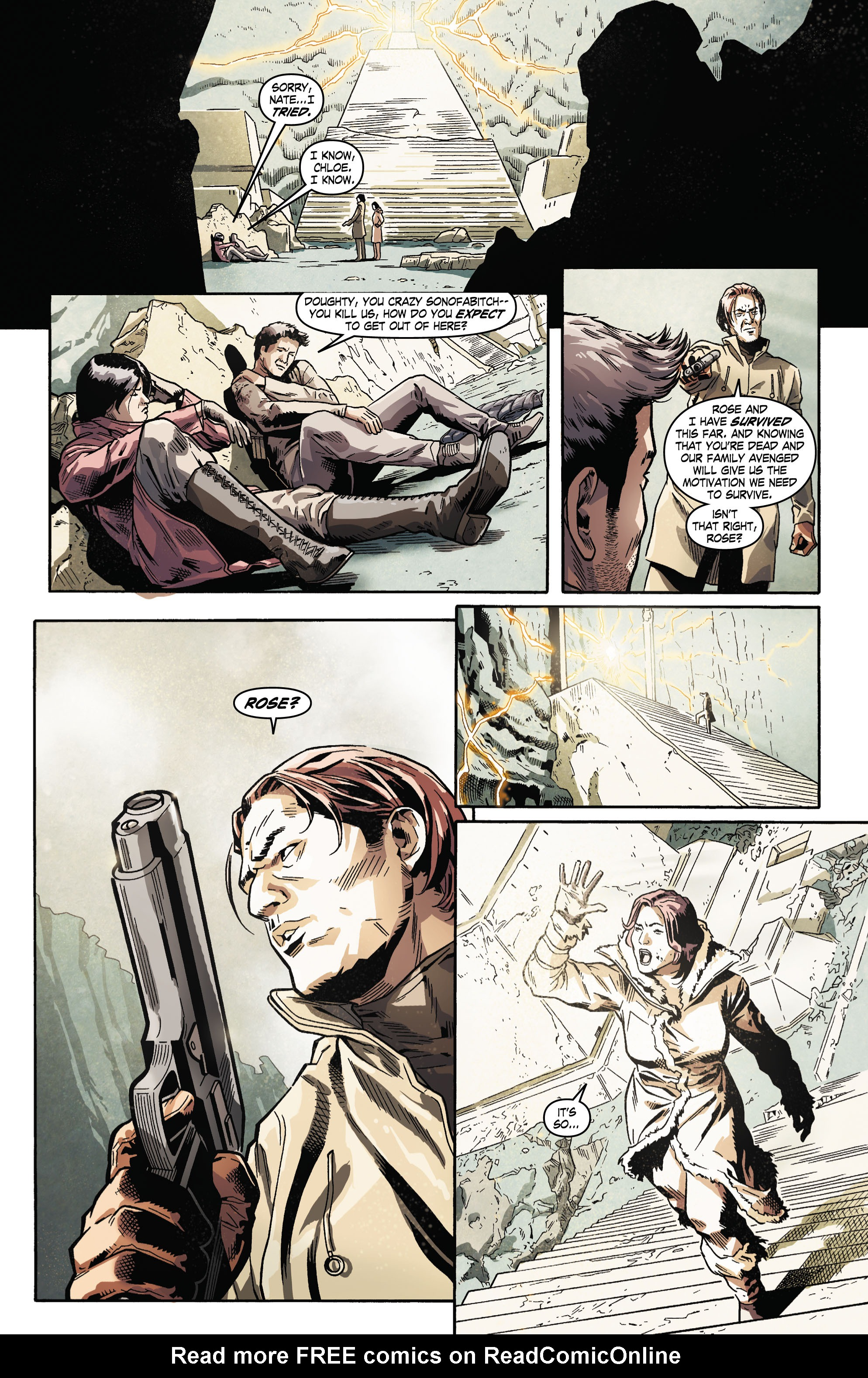 Read online Uncharted comic -  Issue #5 - 14