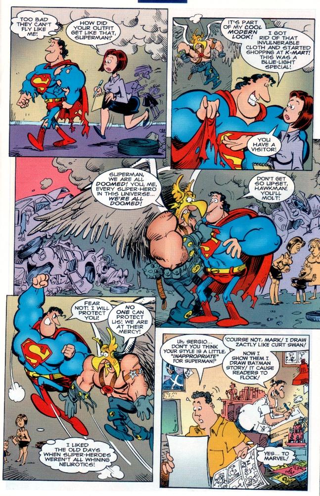 Read online Sergio Aragones Destroys DC comic -  Issue # Full - 12