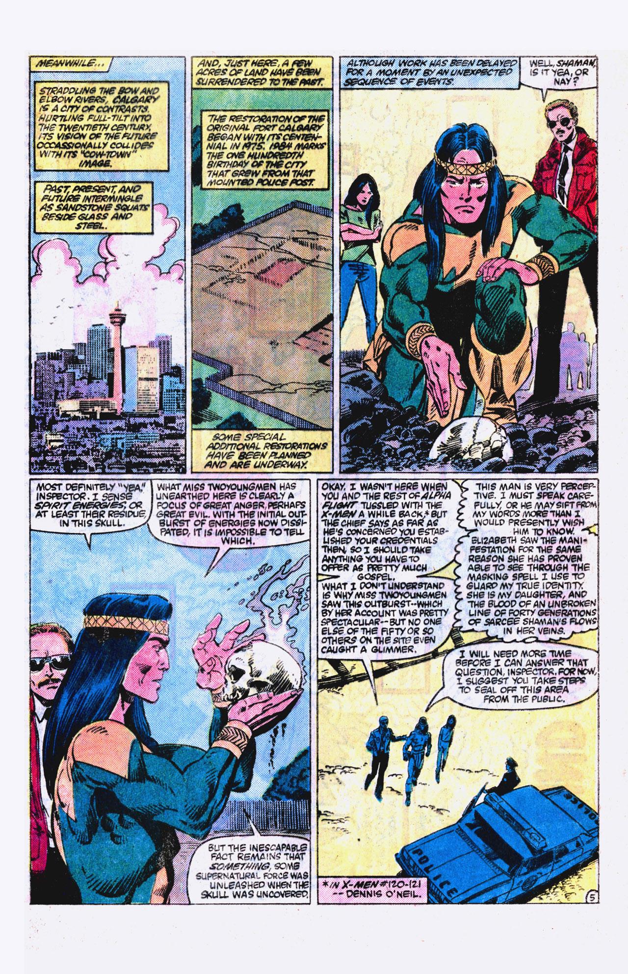 Read online Alpha Flight (1983) comic -  Issue #18 - 6