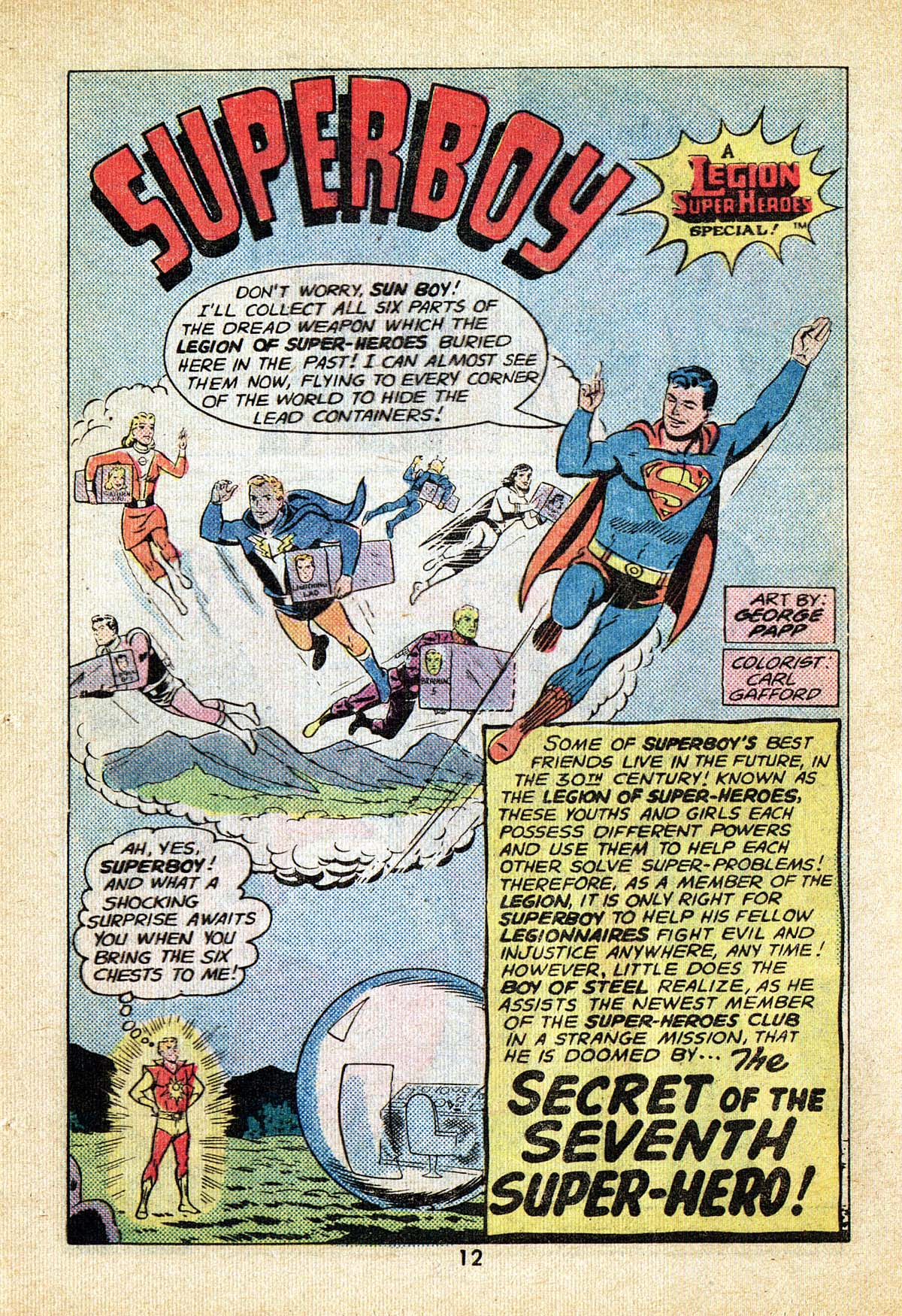 Read online Adventure Comics (1938) comic -  Issue #495 - 12