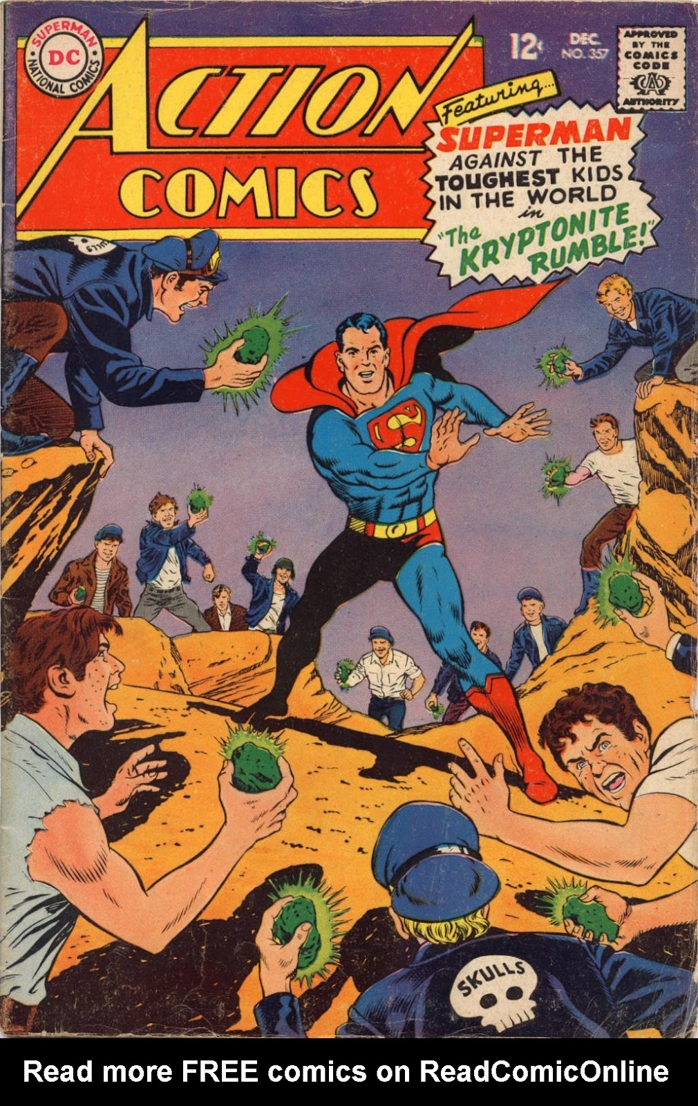 Action Comics (1938) 357 Page 1