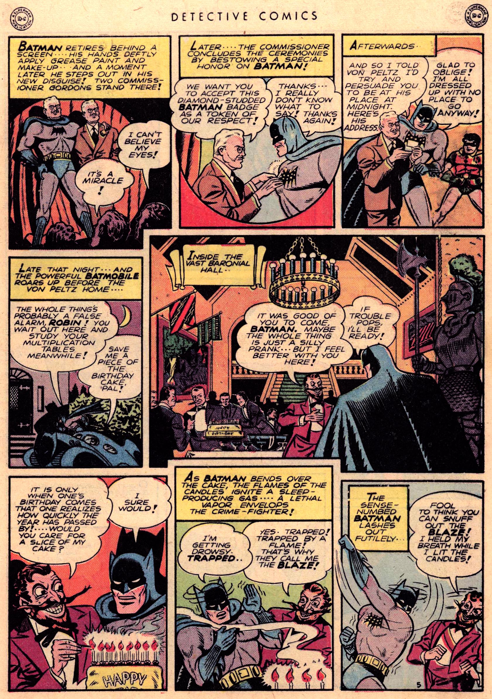 Read online Detective Comics (1937) comic -  Issue #95 - 7