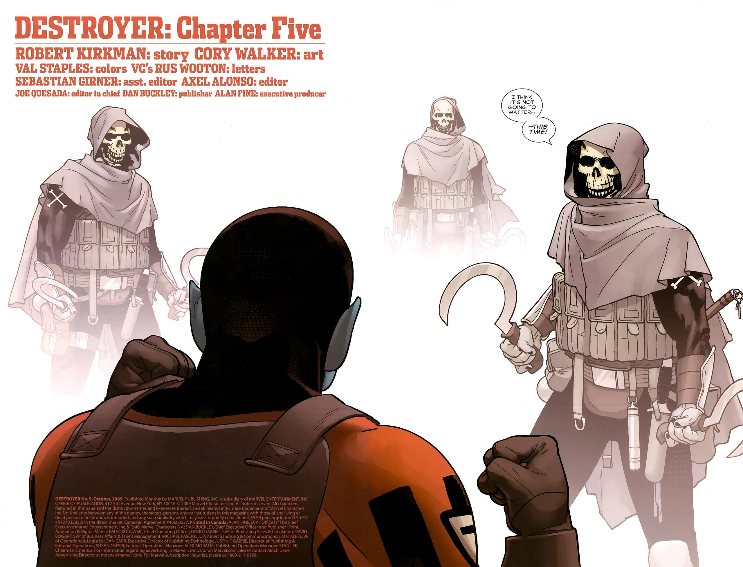 Read online Destroyer comic -  Issue #5 - 7