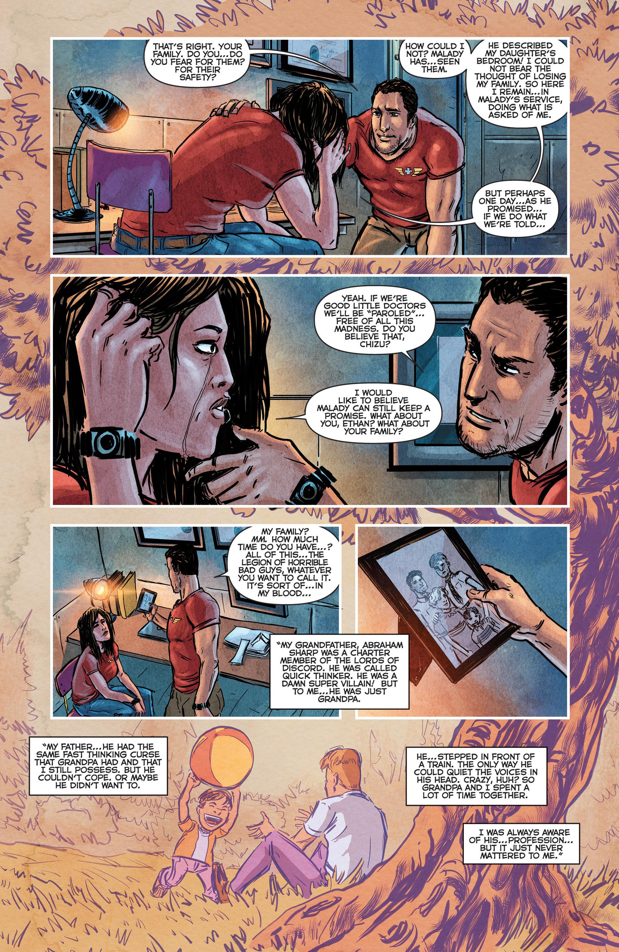 Read online Medisin comic -  Issue #1 - 17