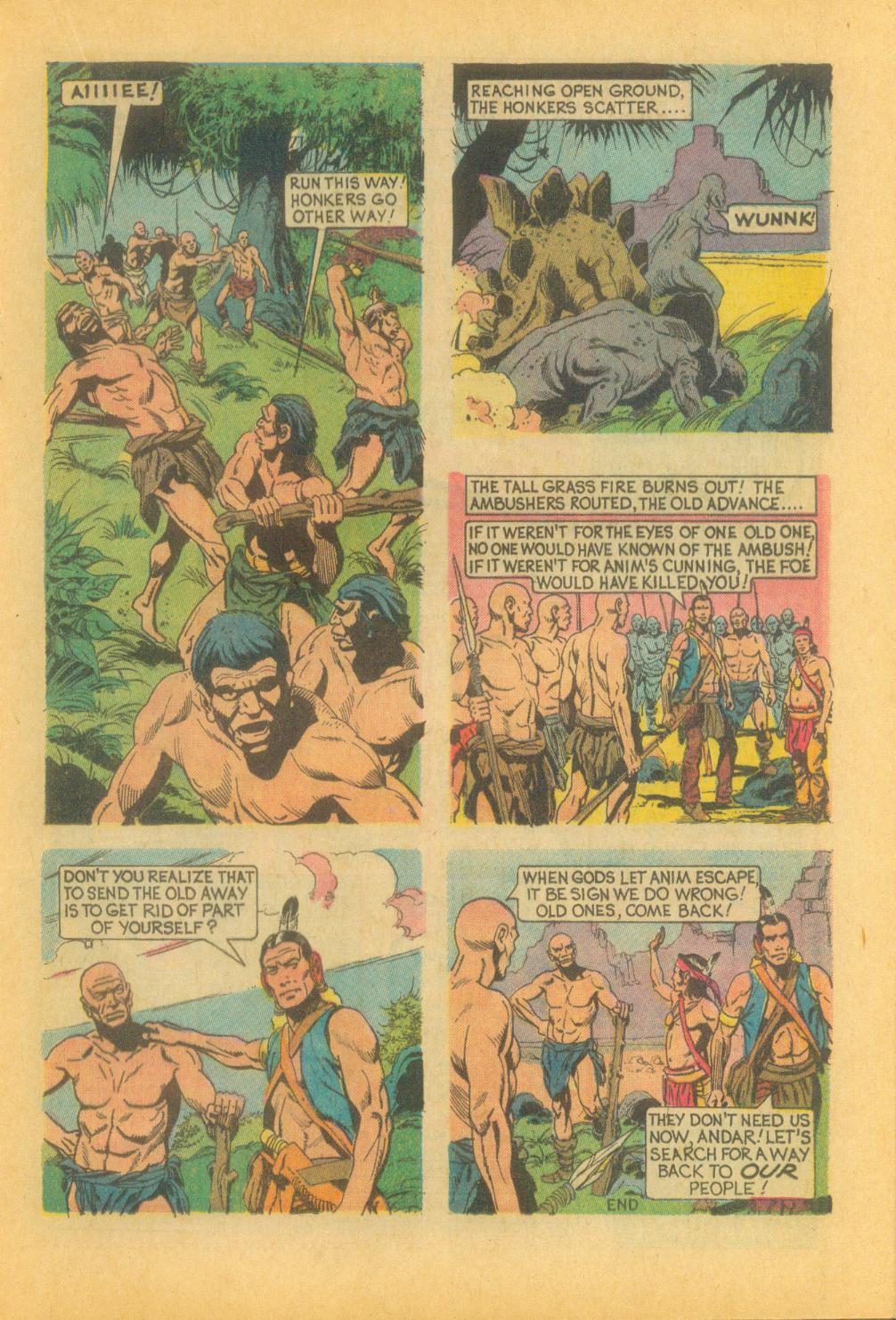 Read online Turok, Son of Stone comic -  Issue #87 - 17