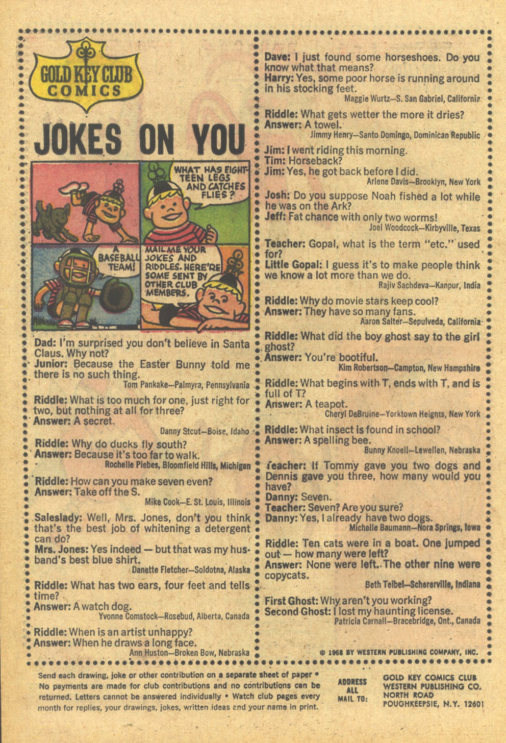 Walt Disney's Comics and Stories issue 332 - Page 20