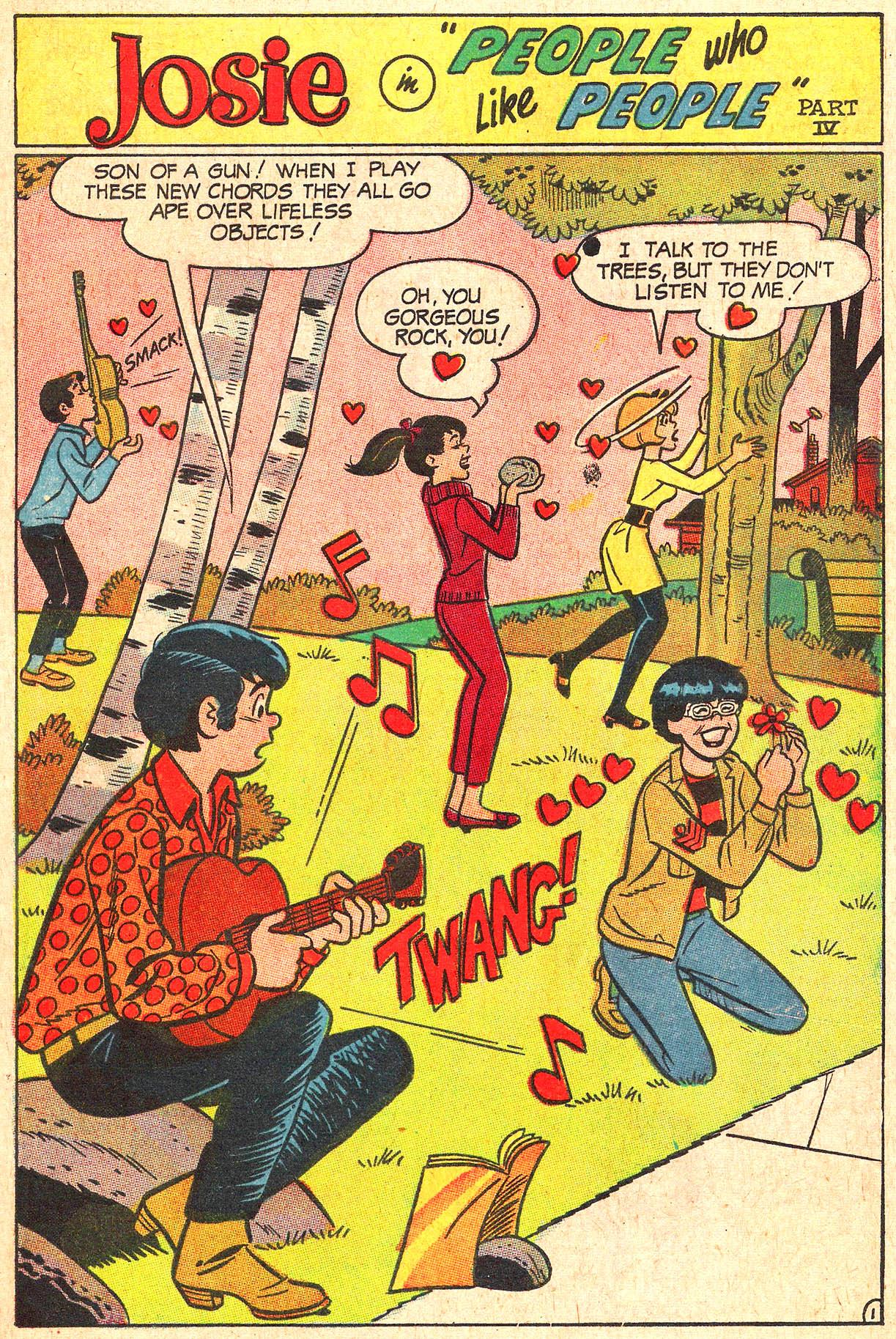 Read online She's Josie comic -  Issue #34 - 29