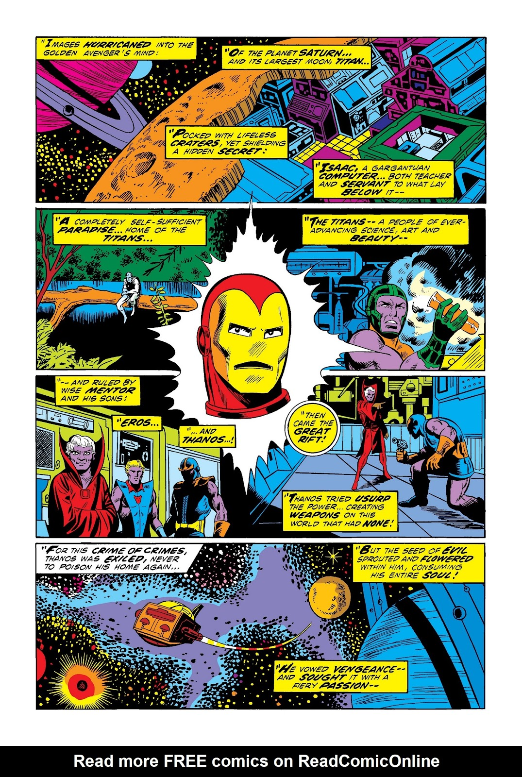 Read online Marvel Masterworks: The Invincible Iron Man comic -  Issue # TPB 9 (Part 1) - 36