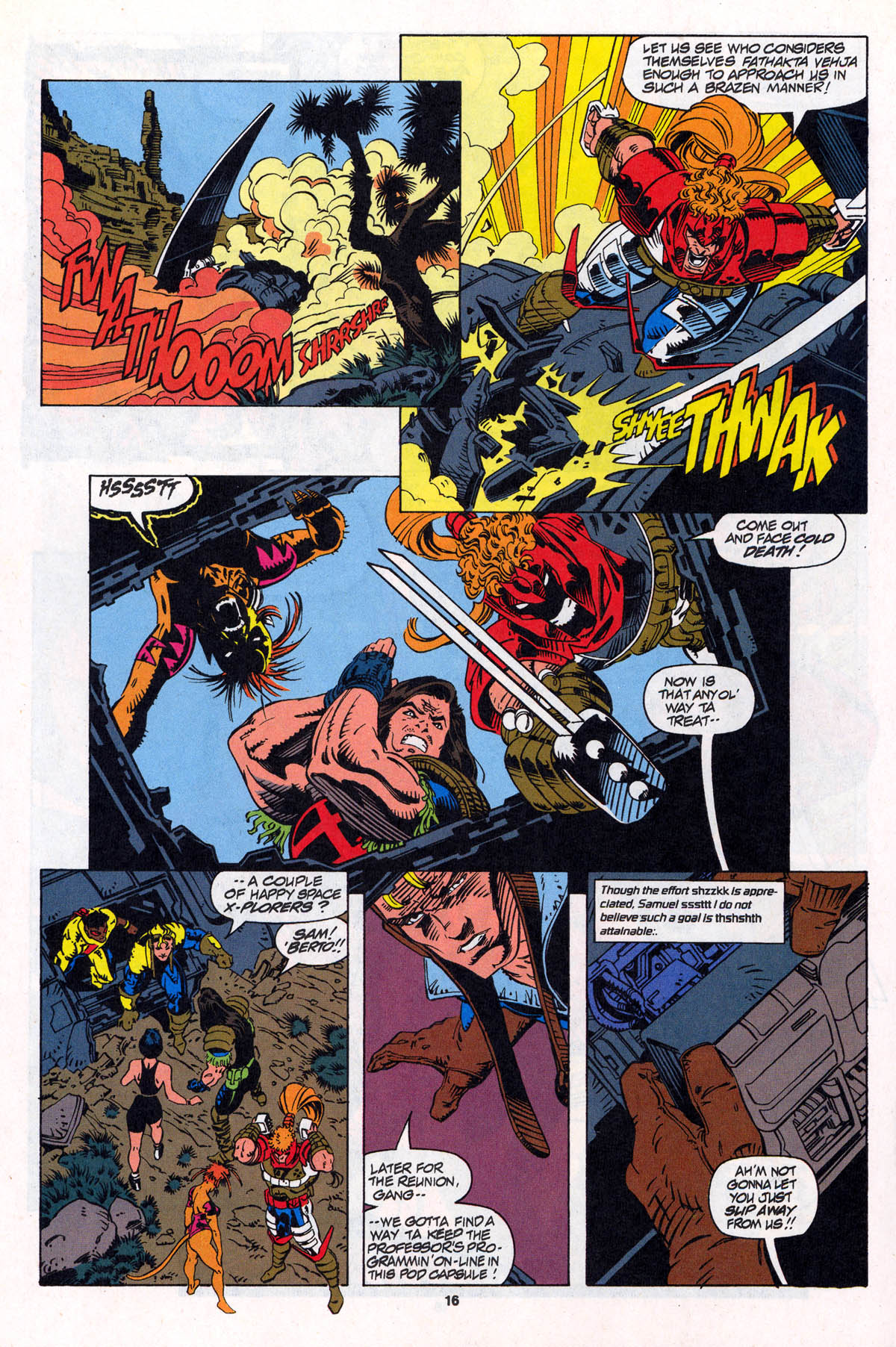 Read online X-Force (1991) comic -  Issue #22 - 17