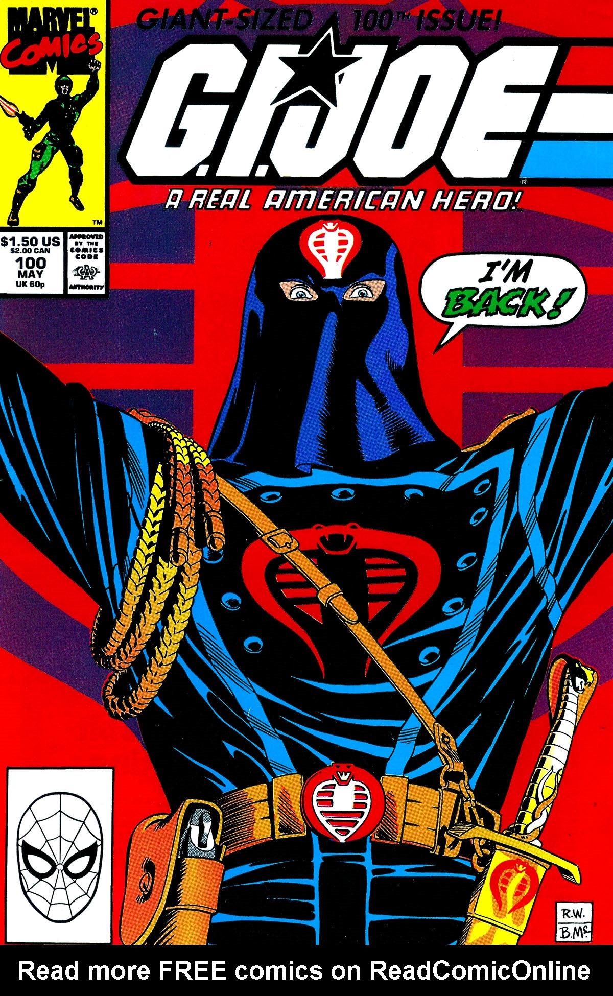 G.I. Joe: A Real American Hero 100 Page 1