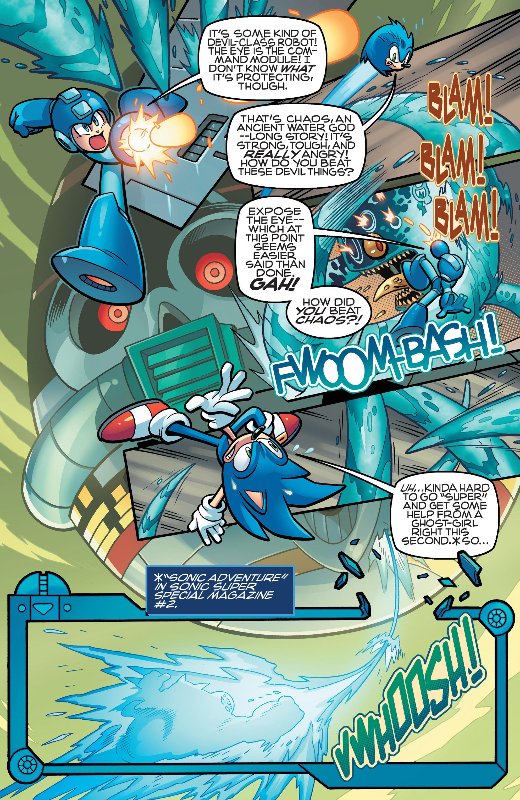 Read online Sonic Mega Man Worlds Collide comic -  Issue # Vol 3 - 63