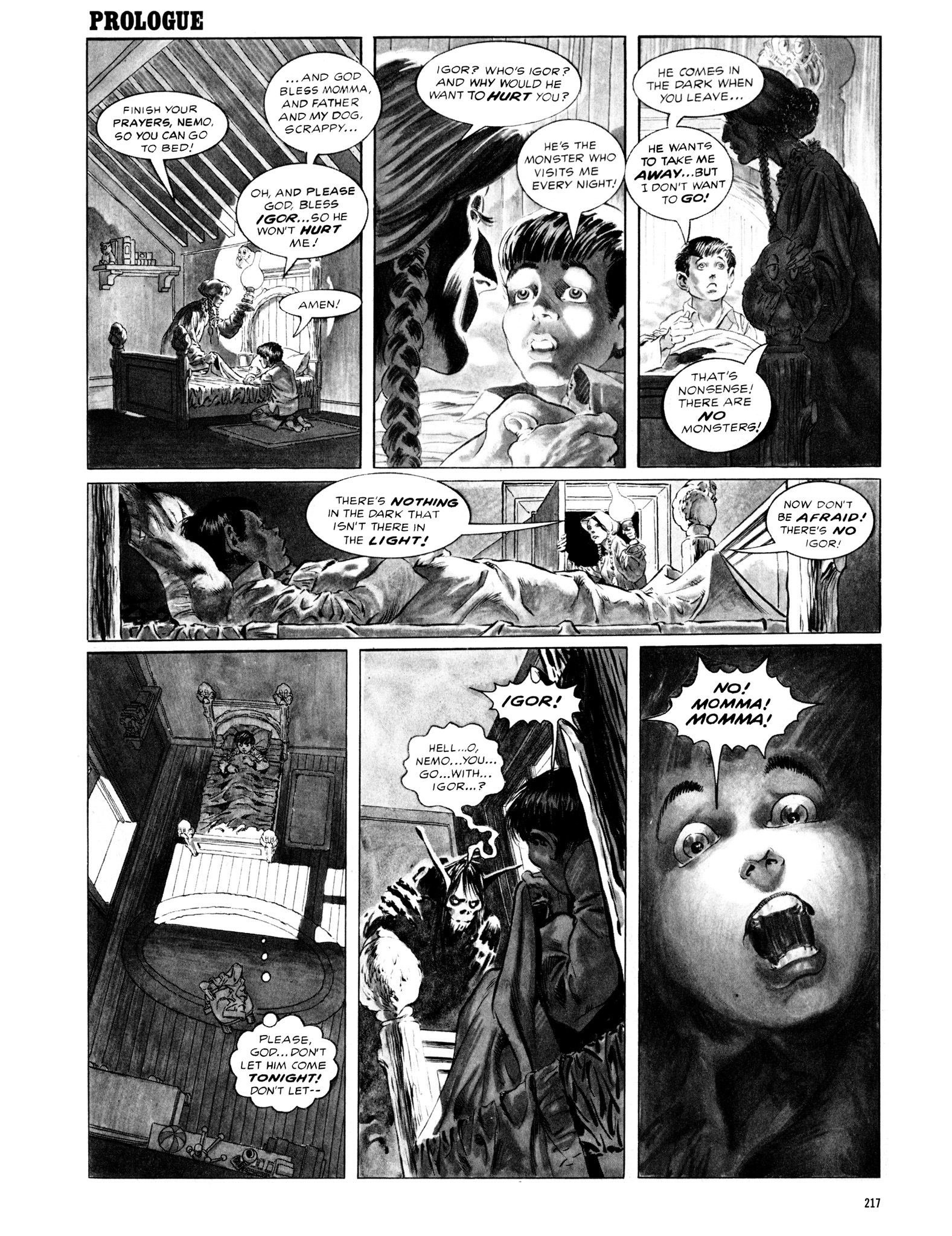 Read online Eerie Archives comic -  Issue # TPB 12 - 218