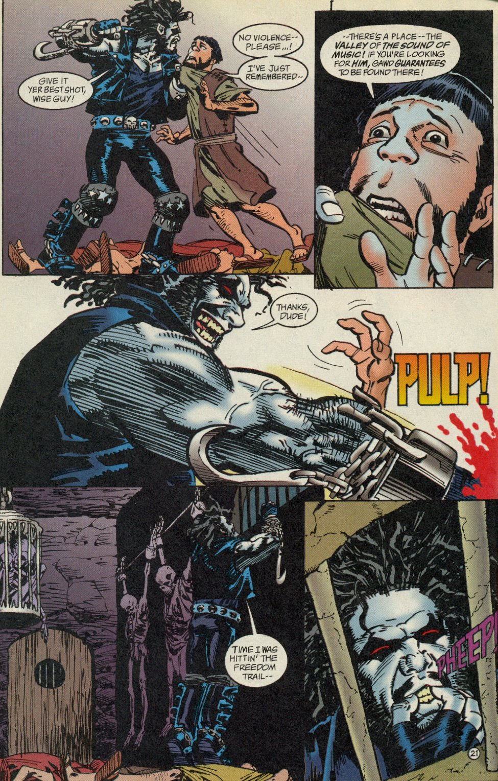 Read online Lobo: A Contract on Gawd comic -  Issue #1 - 22
