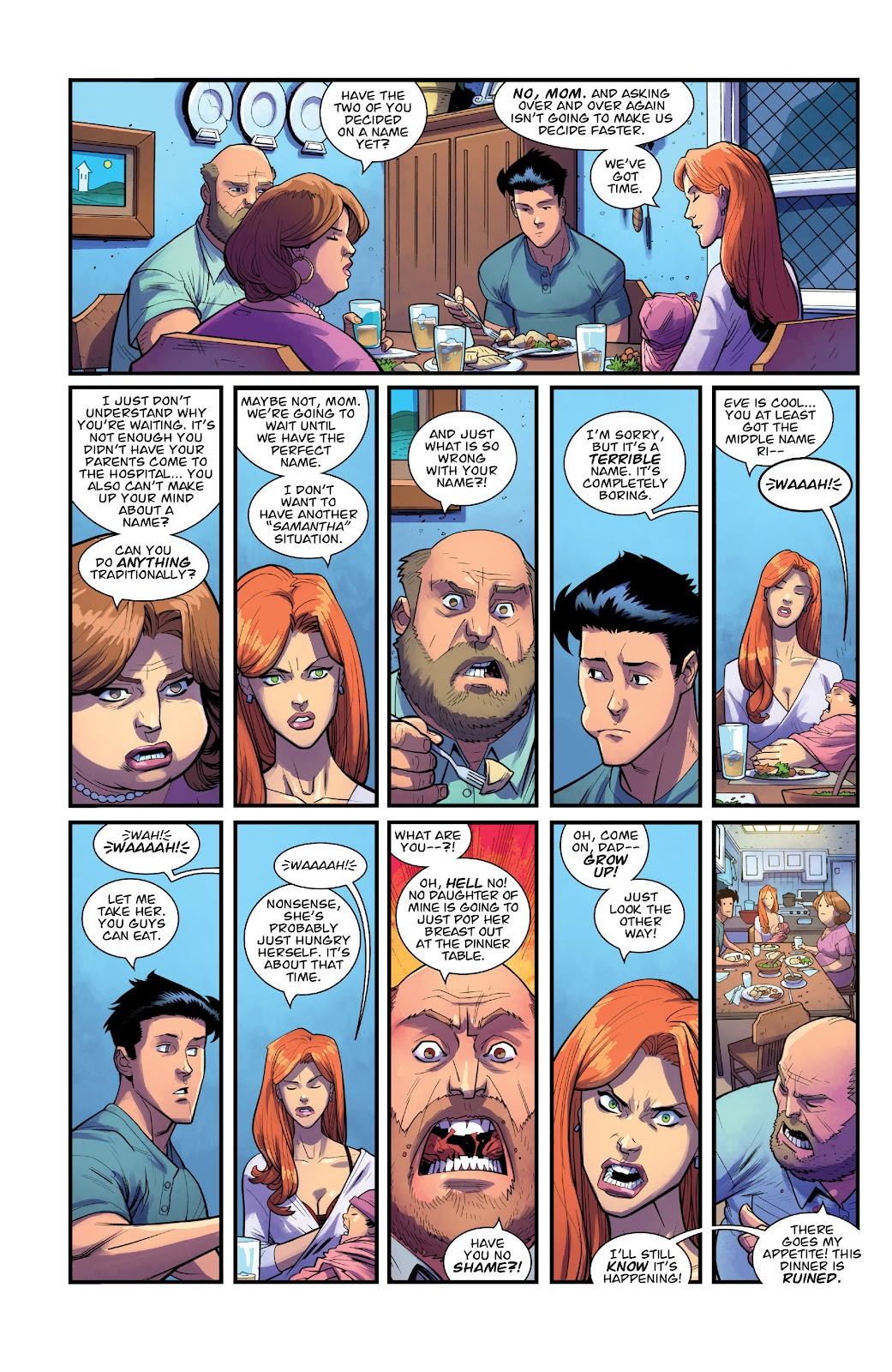 Invincible (2003) issue TPB 21 - Modern Family - Page 32