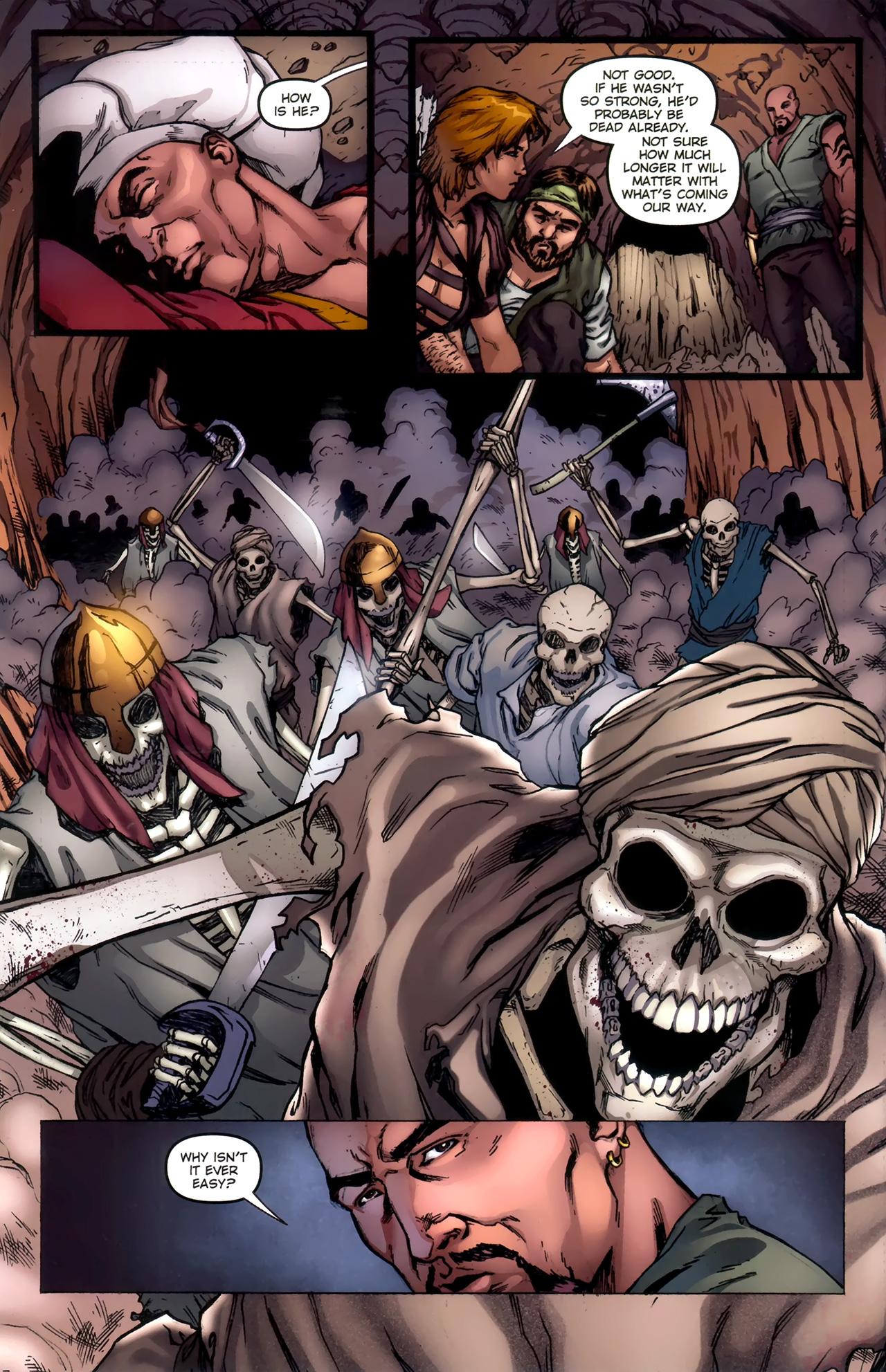 Read online 1001 Arabian Nights: The Adventures of Sinbad comic -  Issue #11 - 6