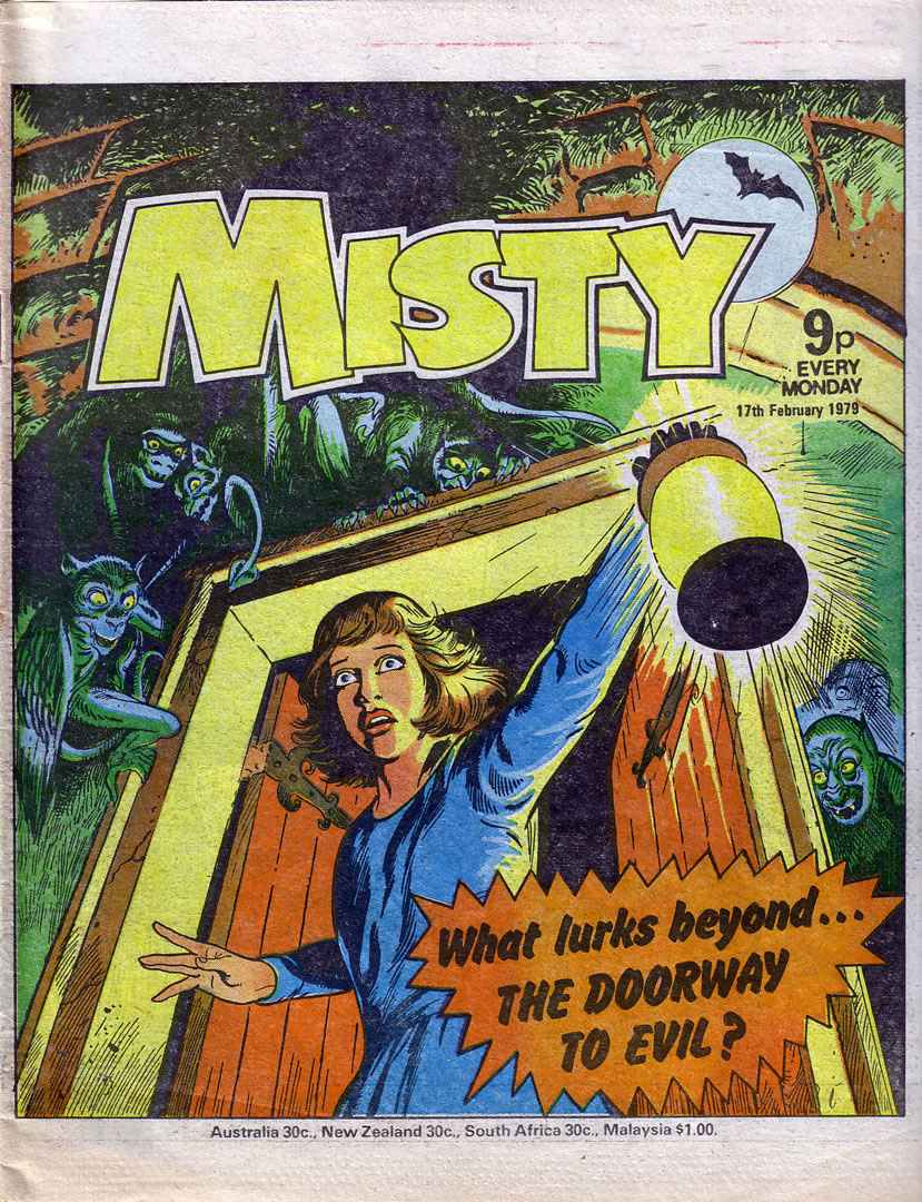 Read online Misty comic -  Issue #54 - 1