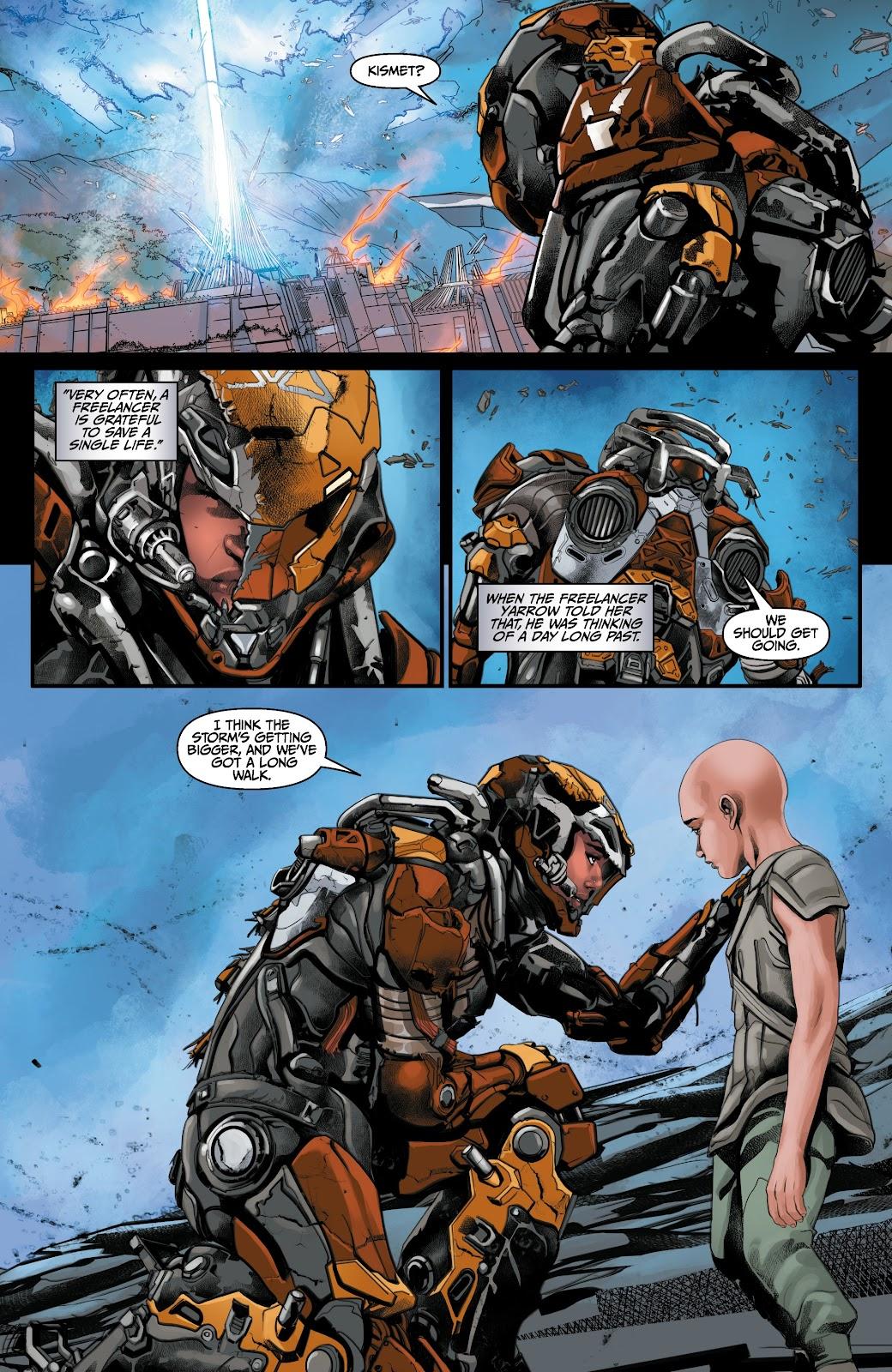 Read online Anthem comic -  Issue #3 - 20