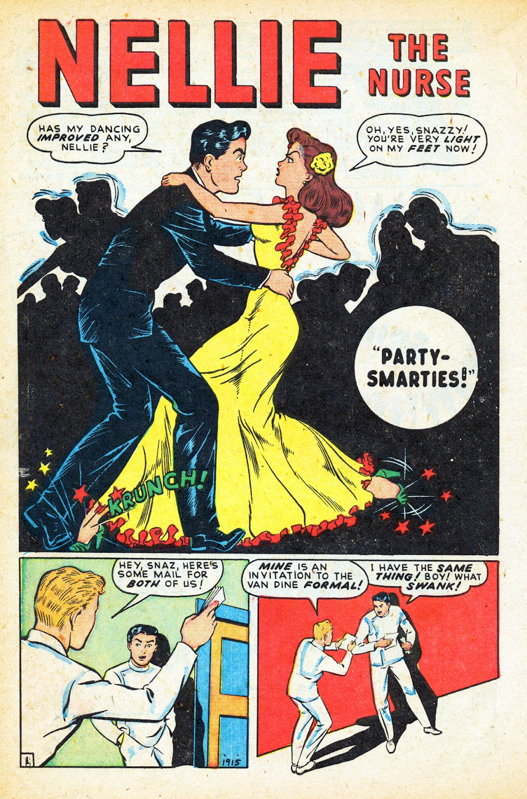 Read online Nellie The Nurse (1945) comic -  Issue #12 - 12