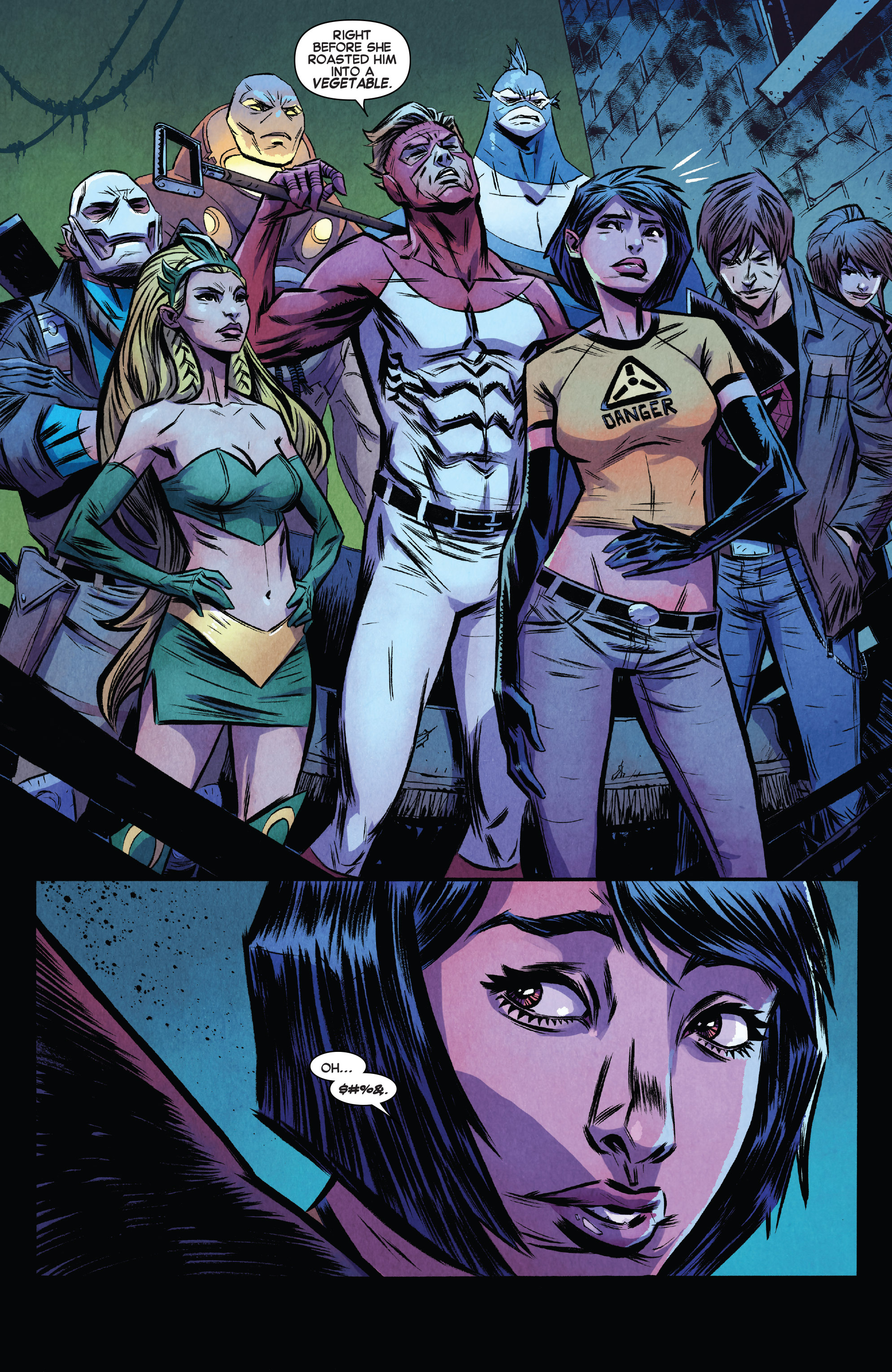 Read online Avengers Undercover comic -  Issue #8 - 13
