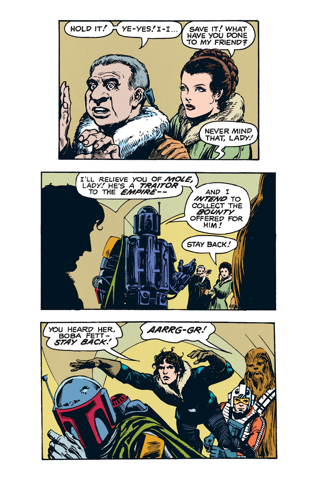 Read online Star Wars Legends: The Newspaper Strips - Epic Collection comic -  Issue # TPB (Part 3) - 78
